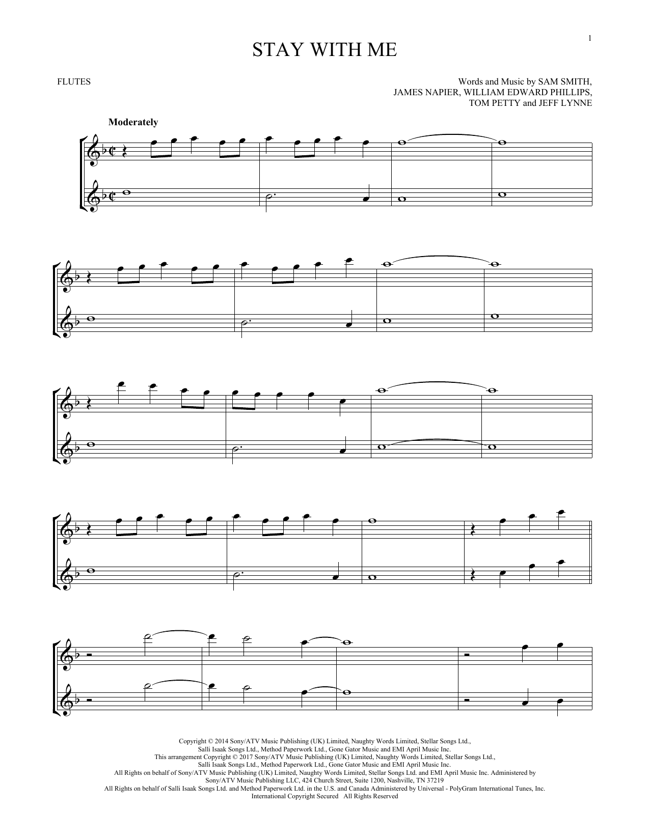 Stay With Me (Flute Duet)