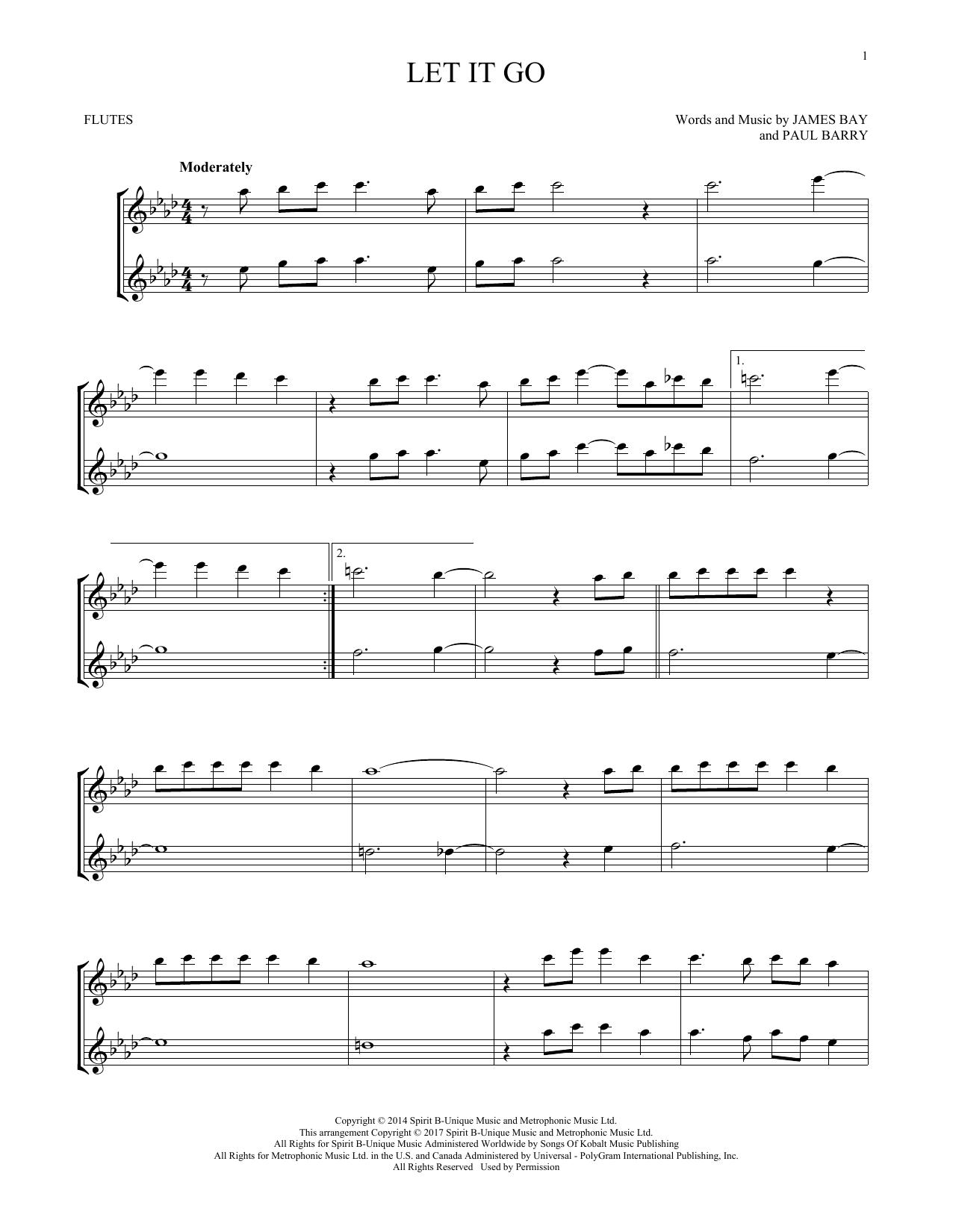 Let It Go (Flute Duet)