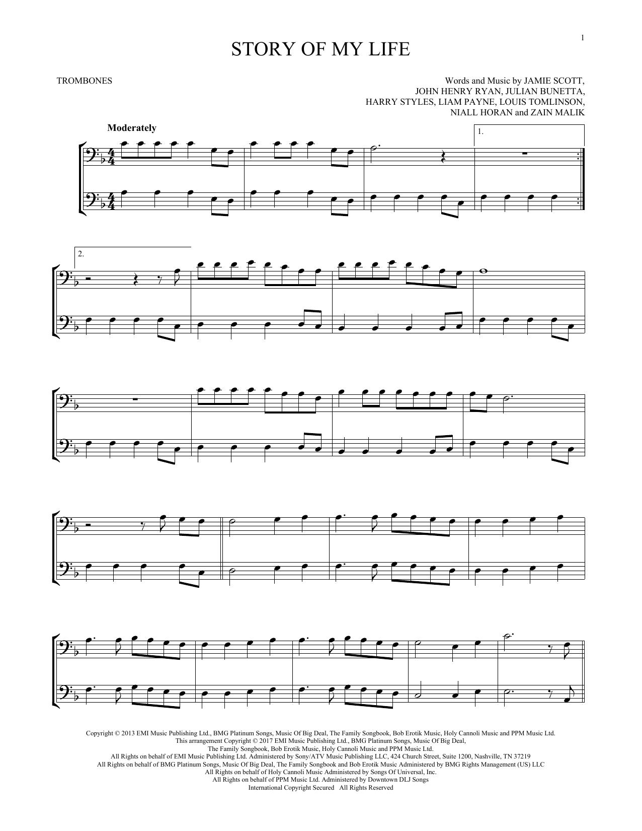 Story Of My Life (Trombone Duet)