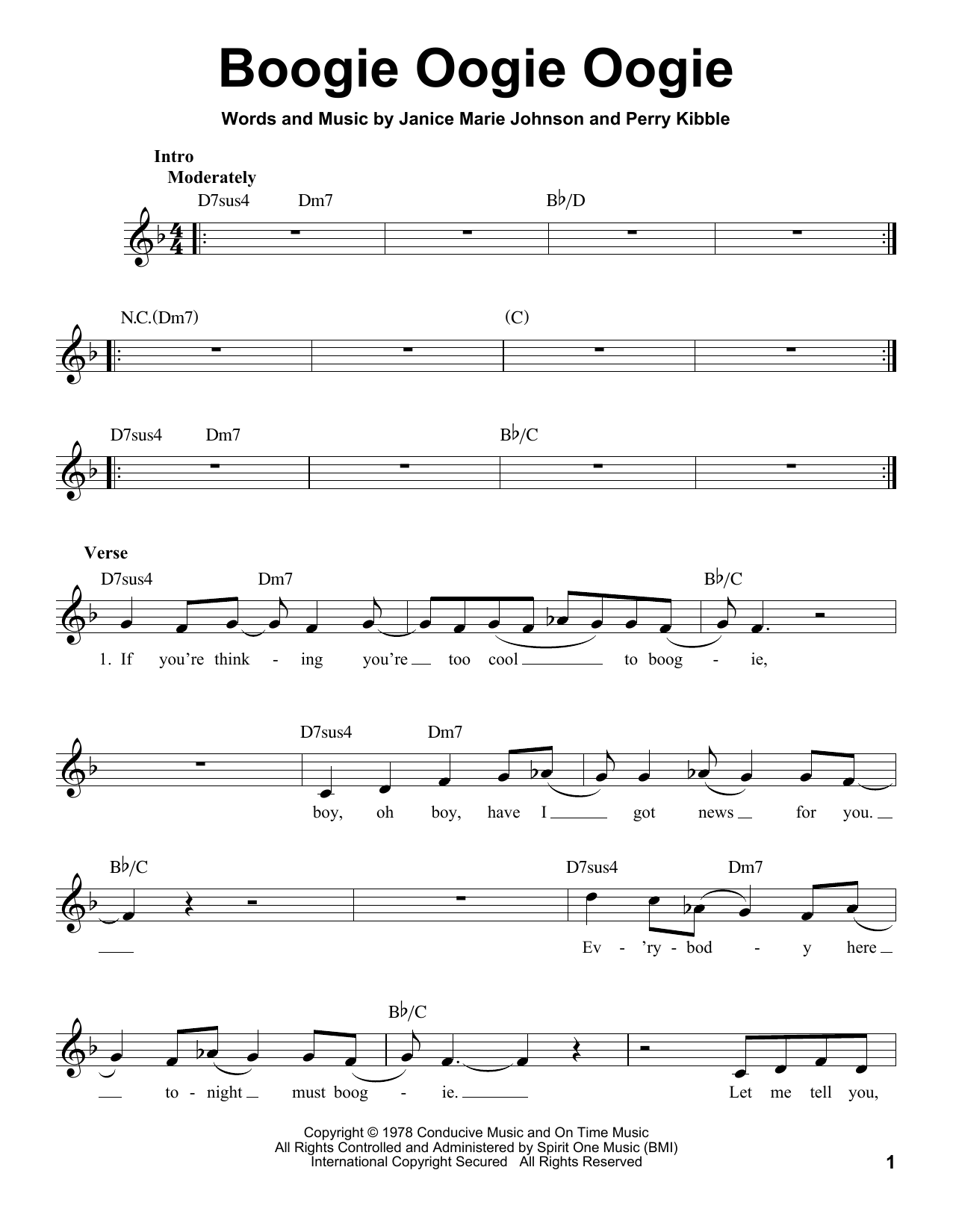 Boogie Oogie Oogie (Pro Vocal)