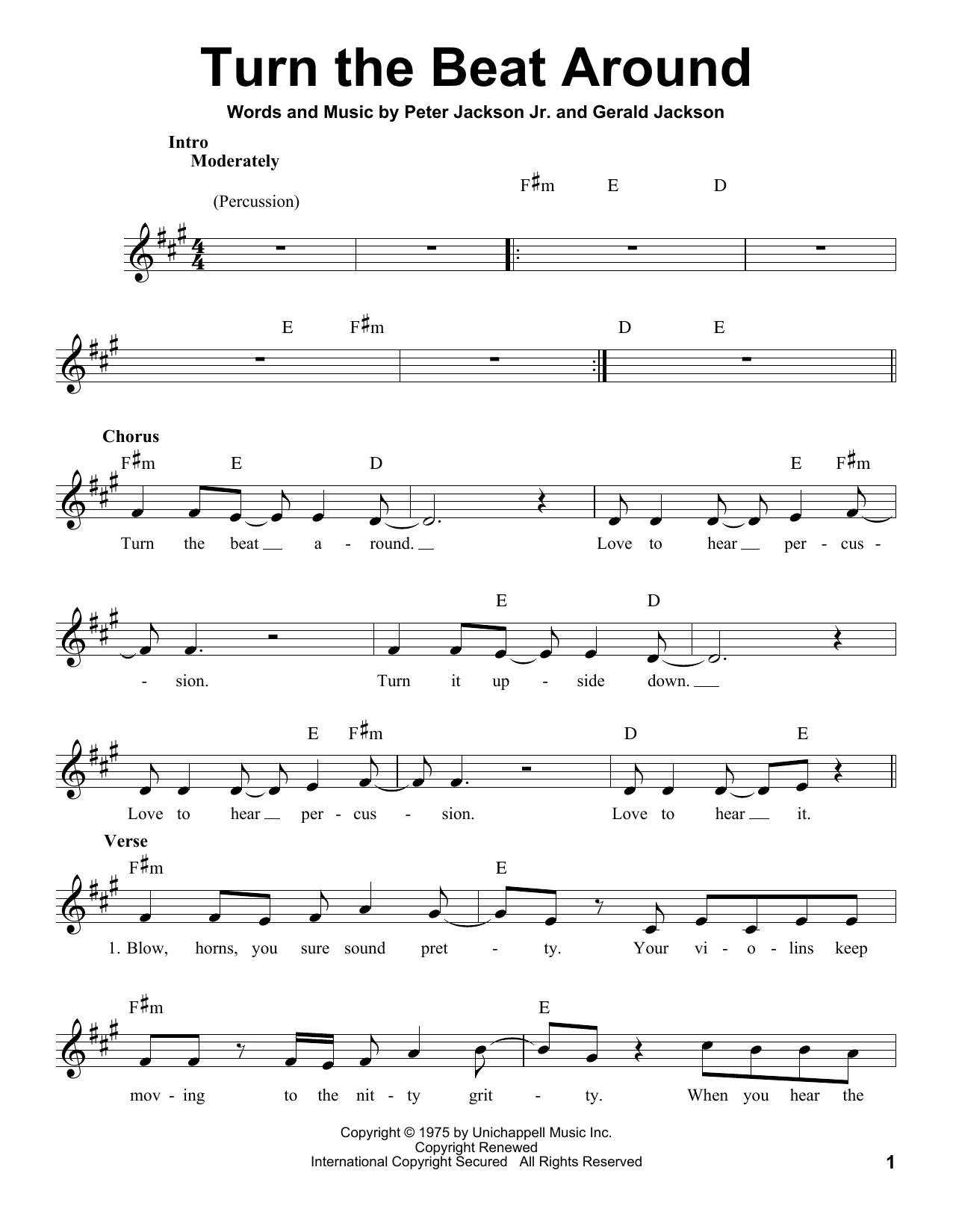 Turn The Beat Around (Pro Vocal)
