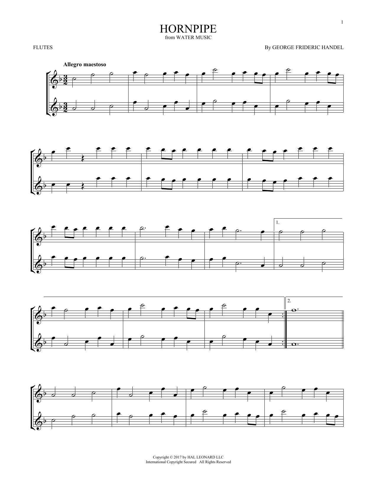 Hornpipe (Flute Duet)