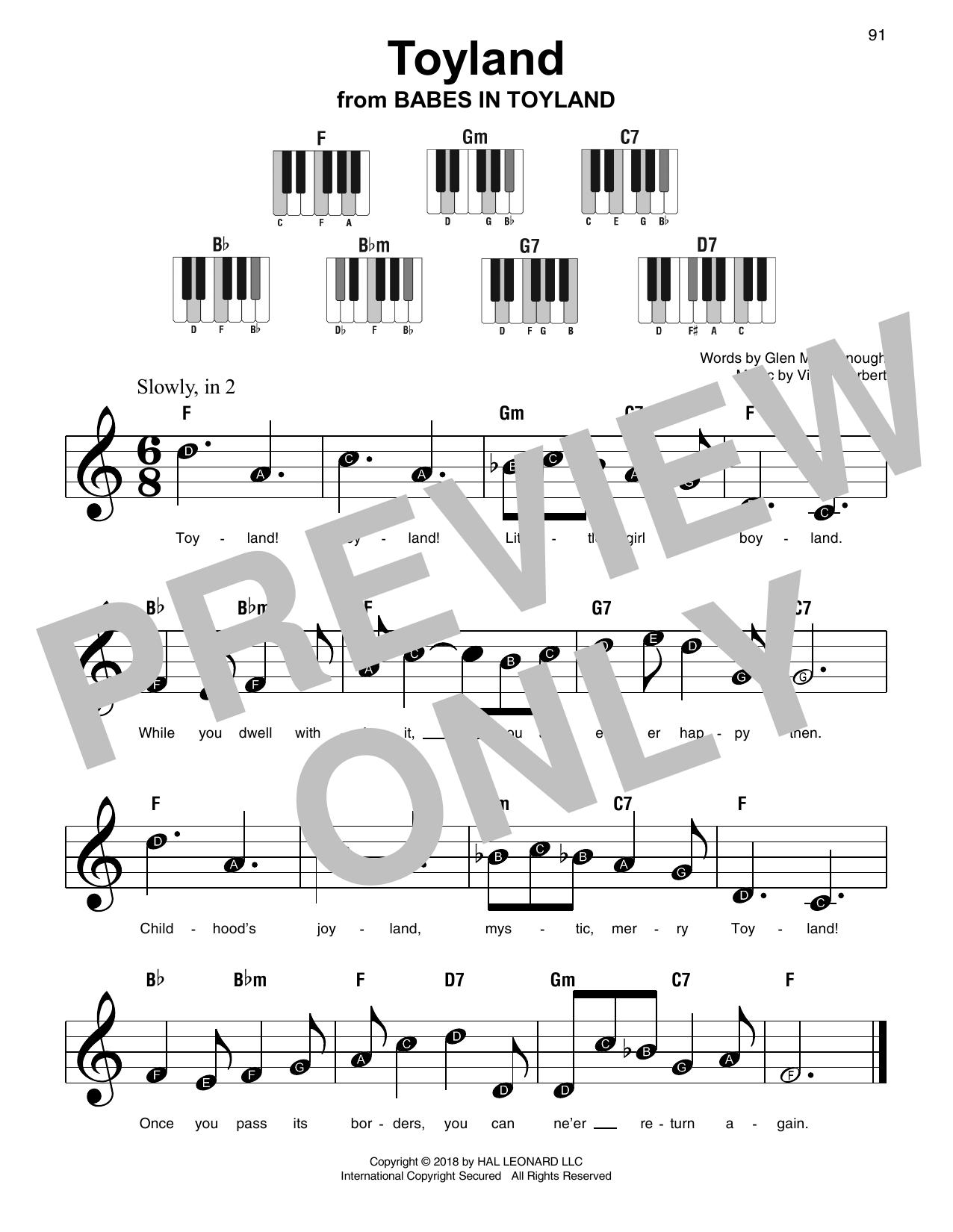 Toyland Sheet Music