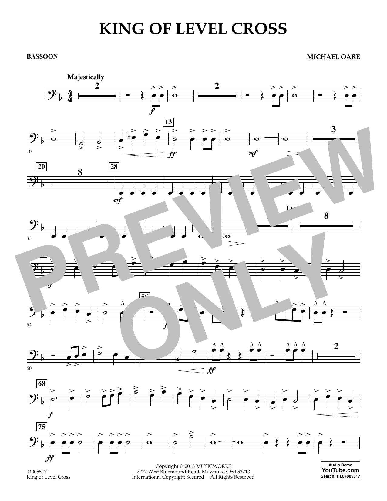 King of Level Cross - Bassoon (Concert Band)