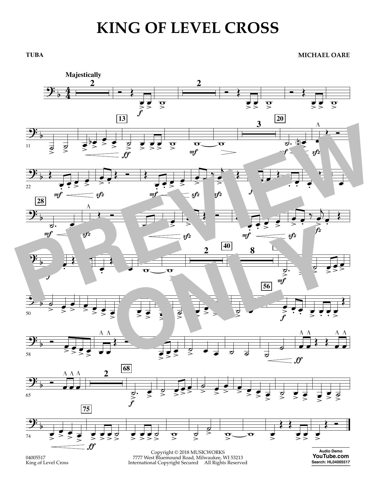 King of Level Cross - Tuba (Concert Band)