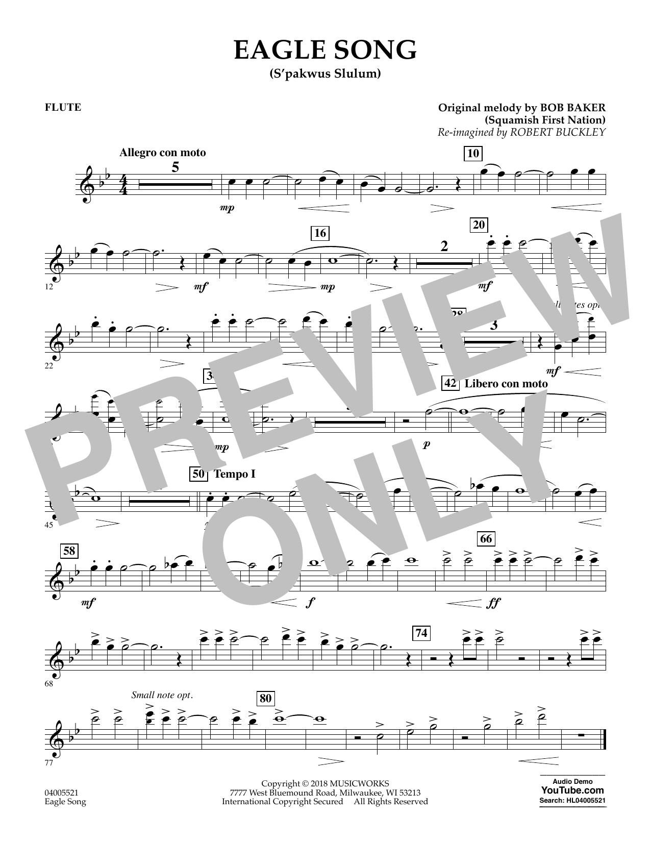 Eagle Song - Flute (Concert Band)