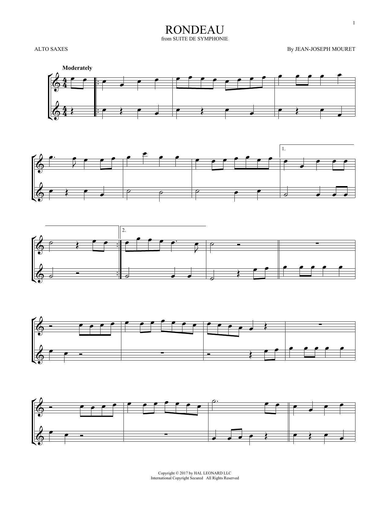 Fanfare Rondeau (Alto Sax Duet)