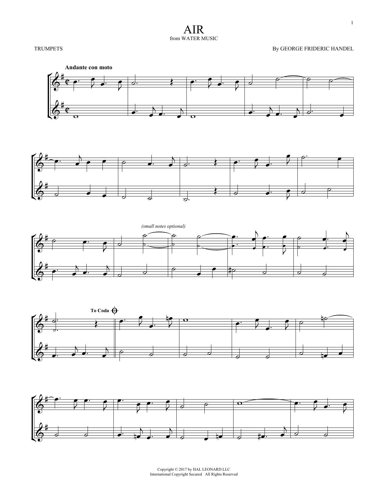 Air (Trumpet Duet)