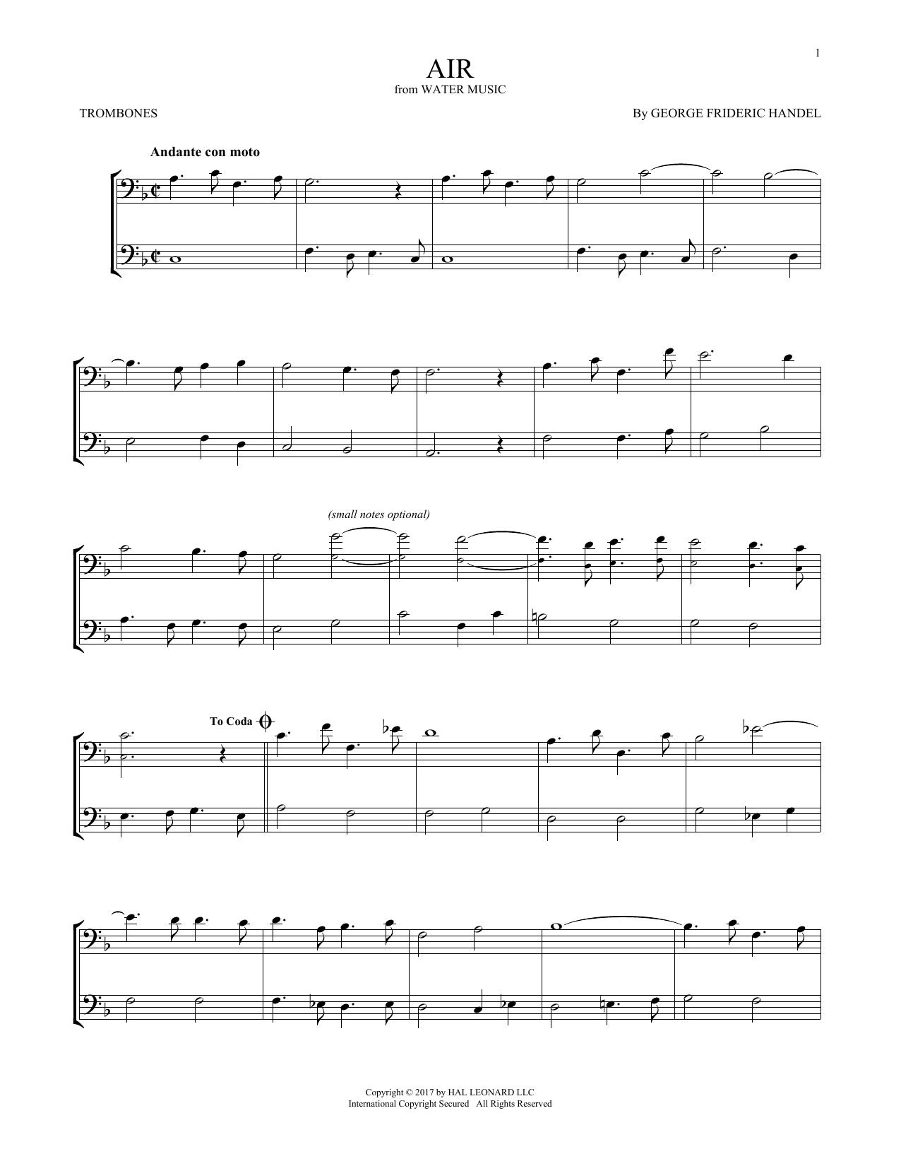 Air (Trombone Duet)