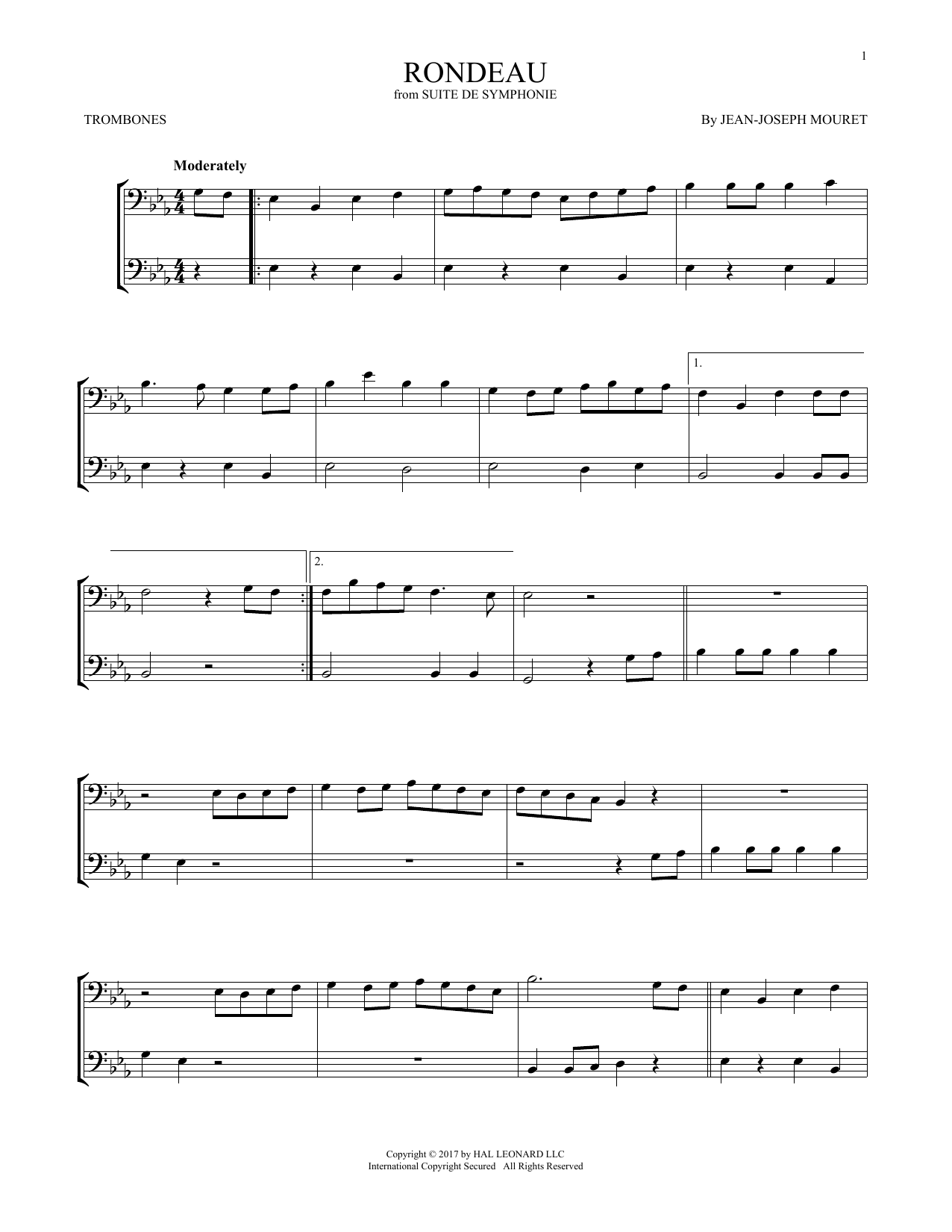 Fanfare Rondeau (Trombone Duet)