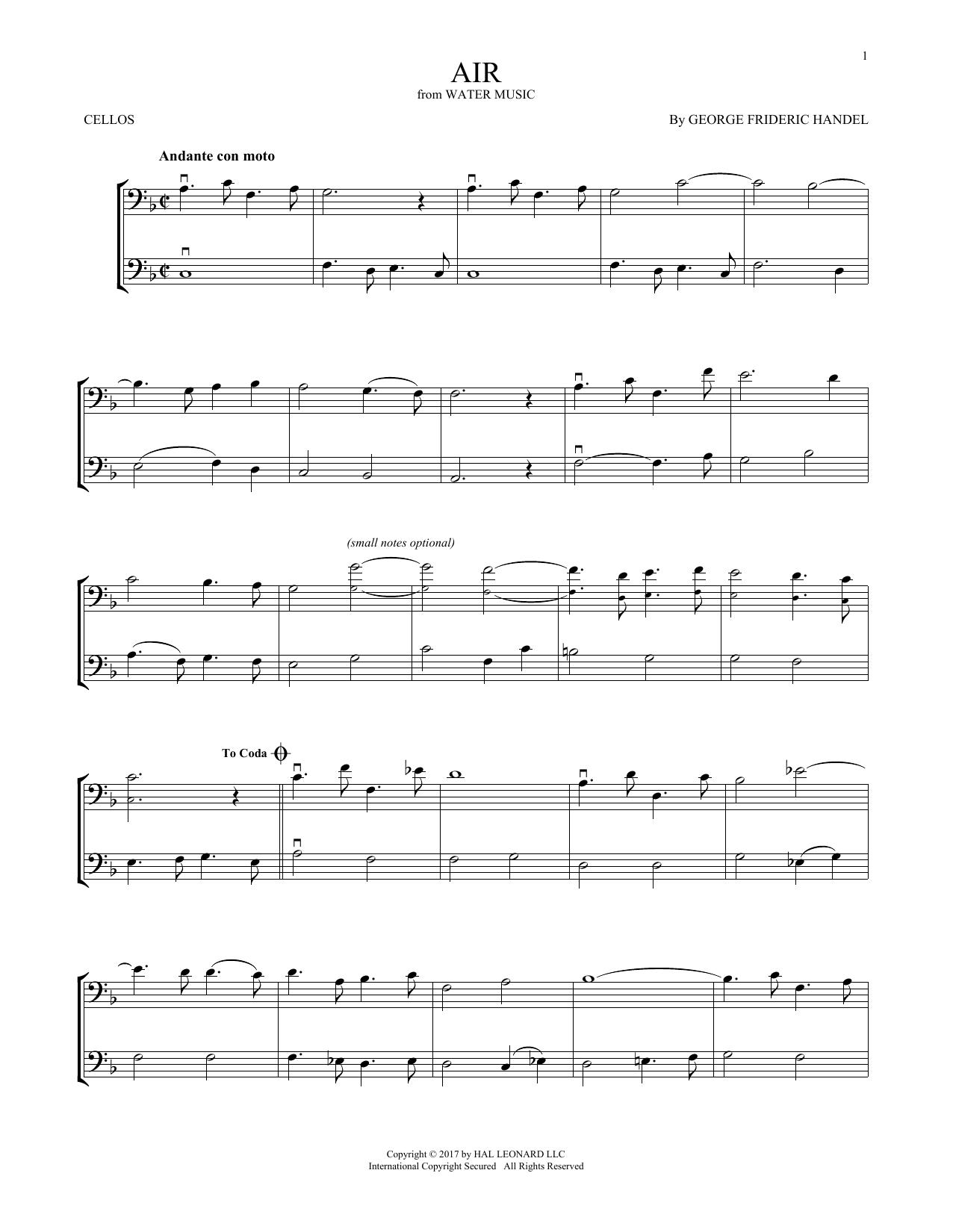 Air (Cello Duet)
