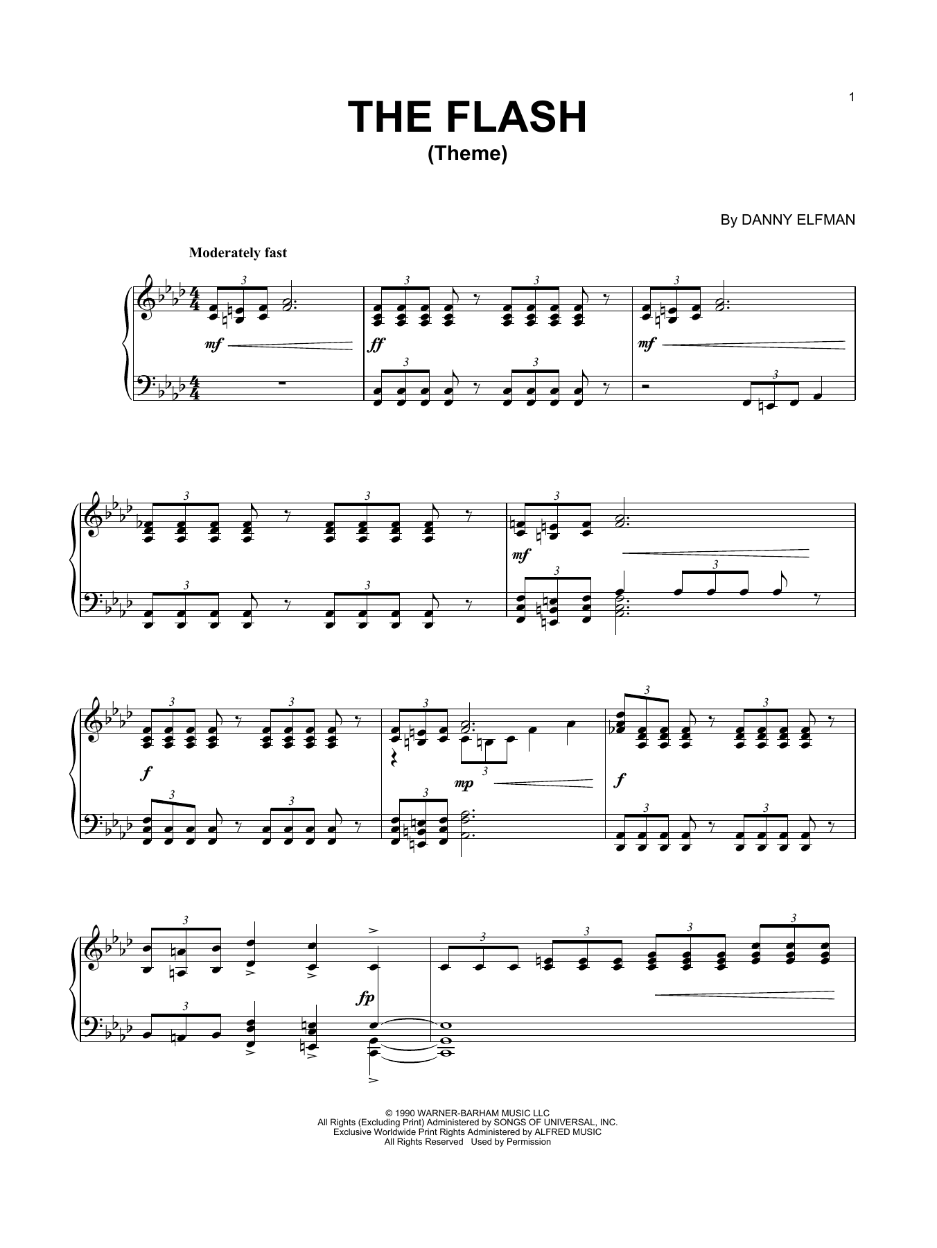 Theme From The Flash (Piano Solo)