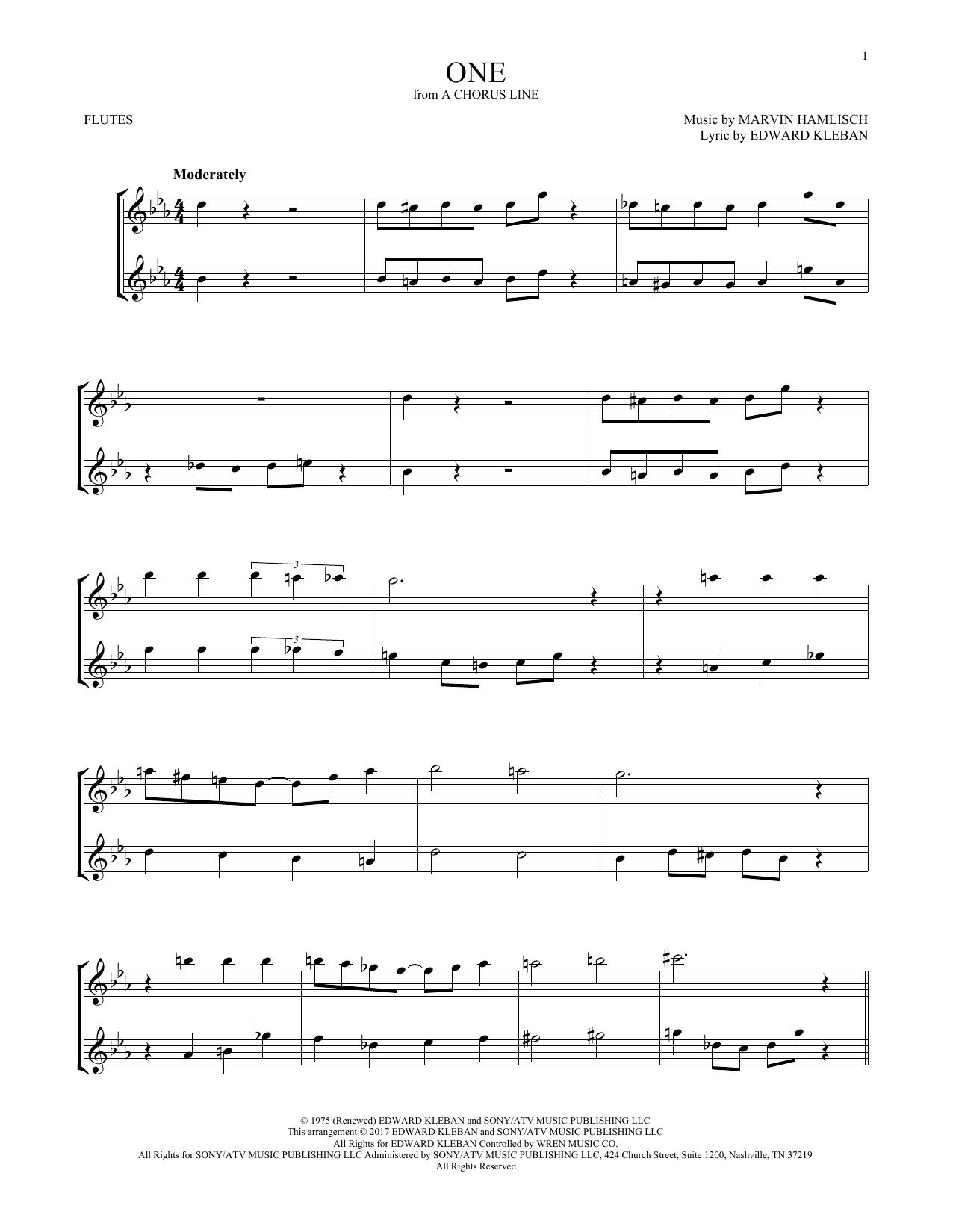One (Flute Duet)