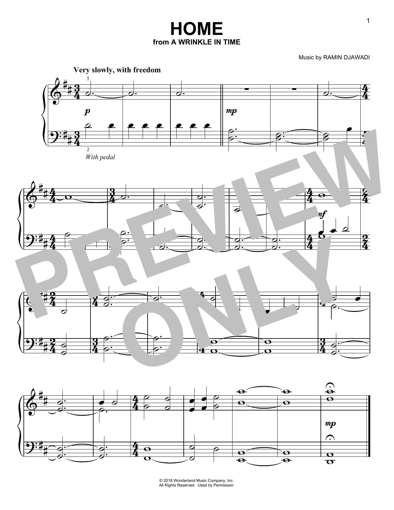Home (Easy Piano)