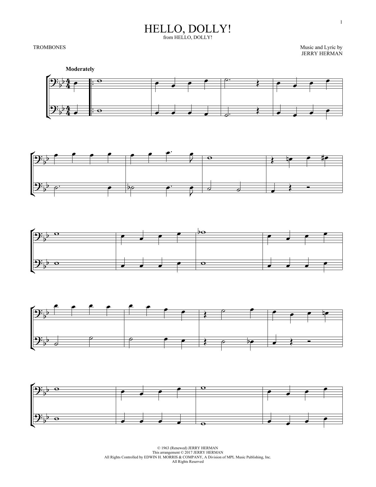 Hello, Dolly! (Trombone Duet)