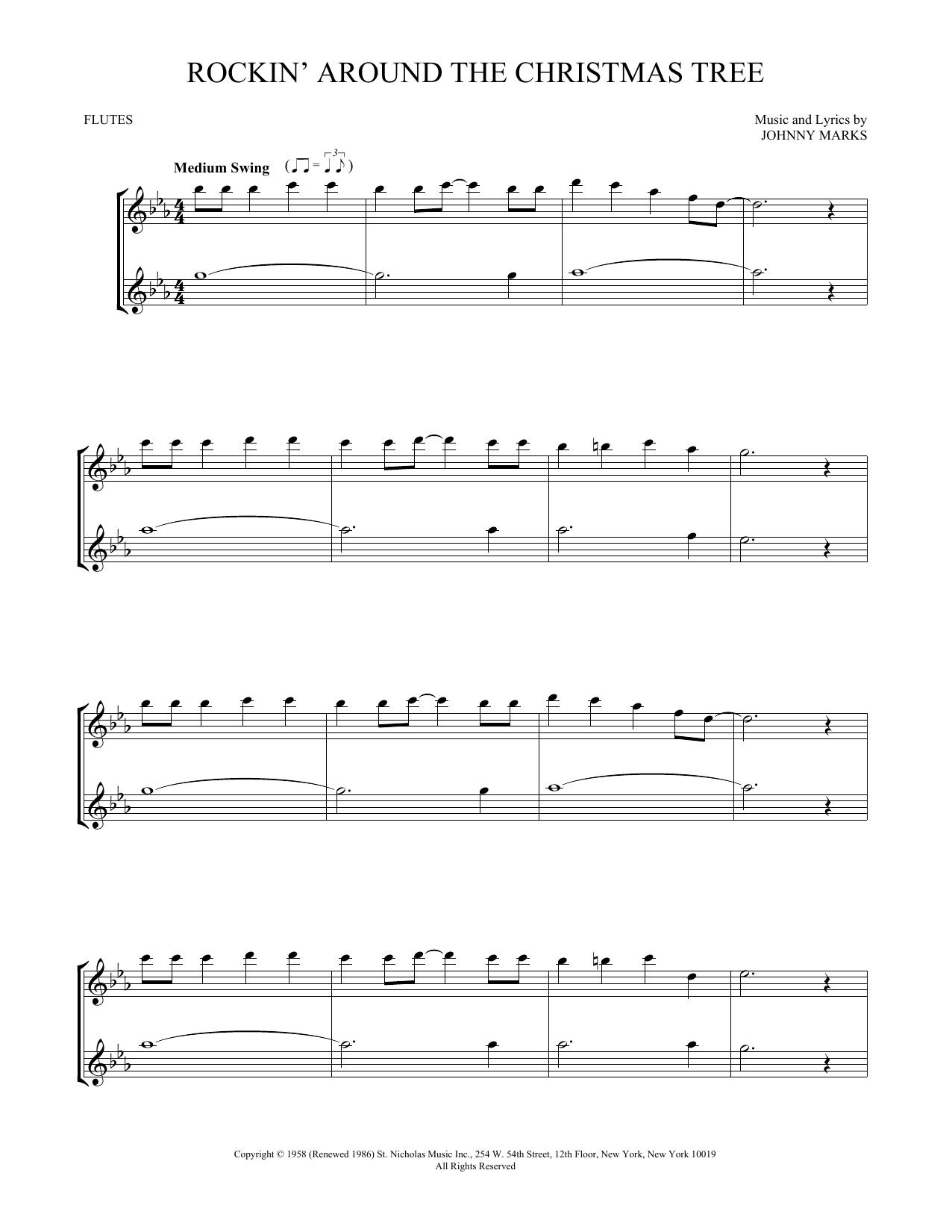 Rockin' Around The Christmas Tree (Flute Duet)