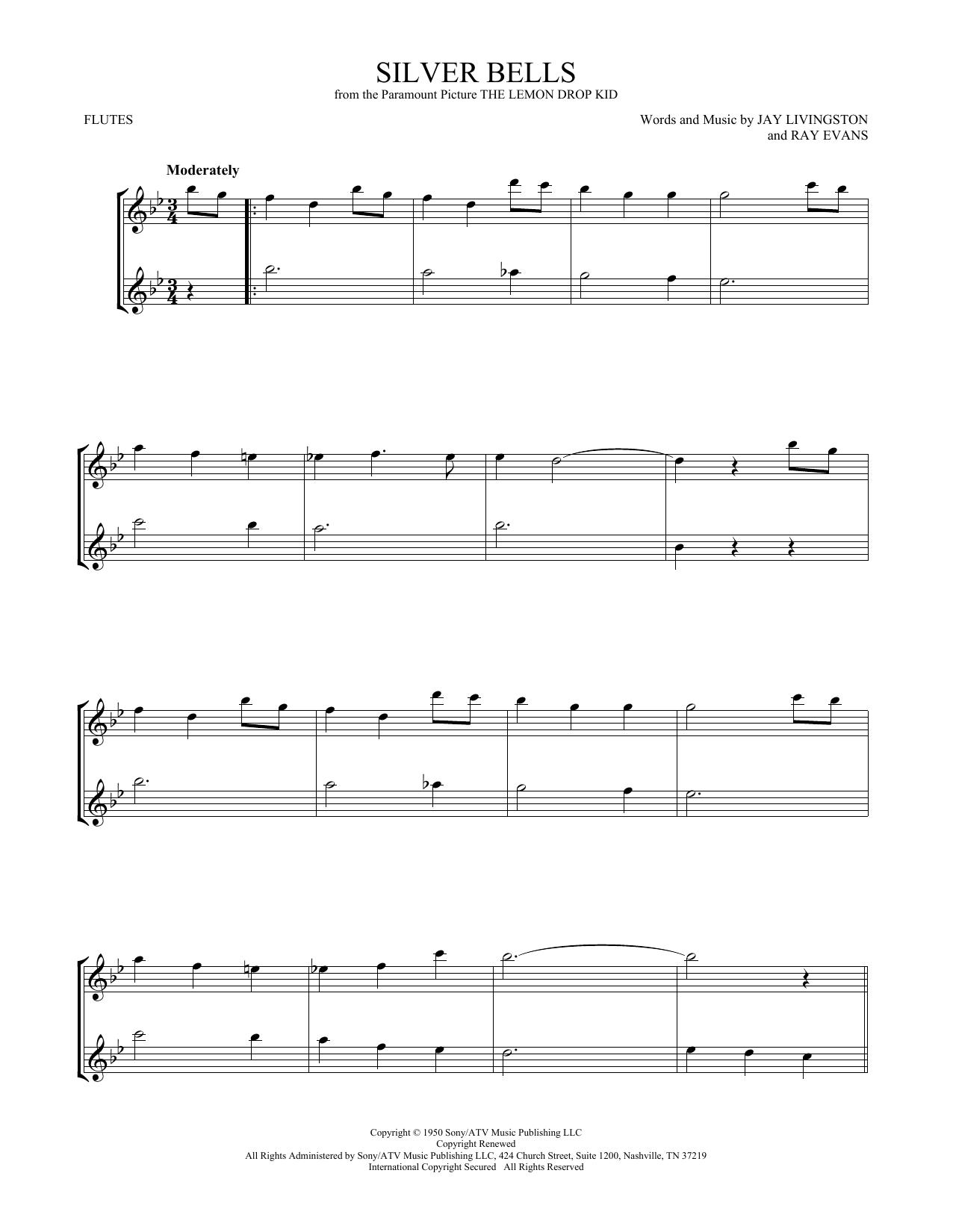 Silver Bells (Flute Duet)