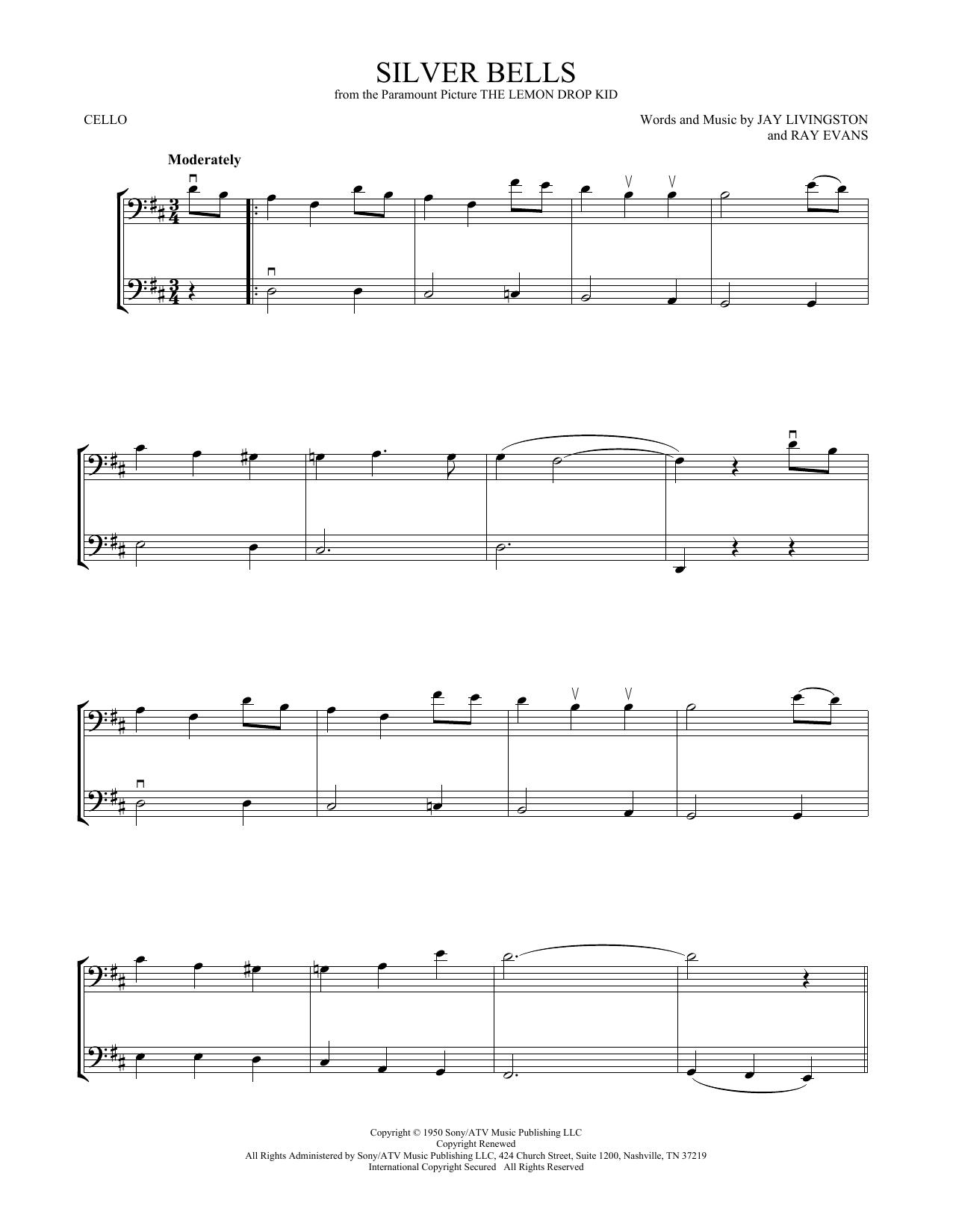 Silver Bells (Cello Duet)