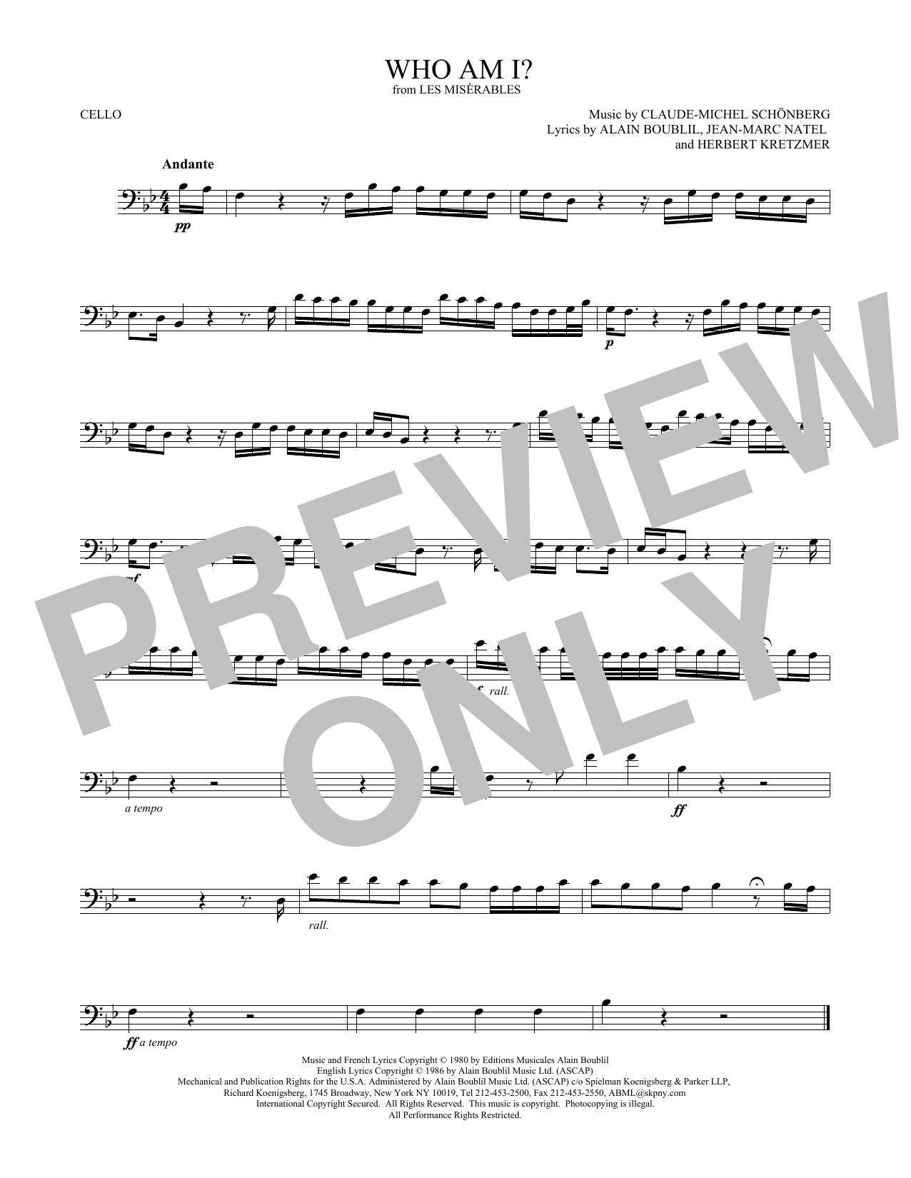 Who Am I? (Cello Solo)