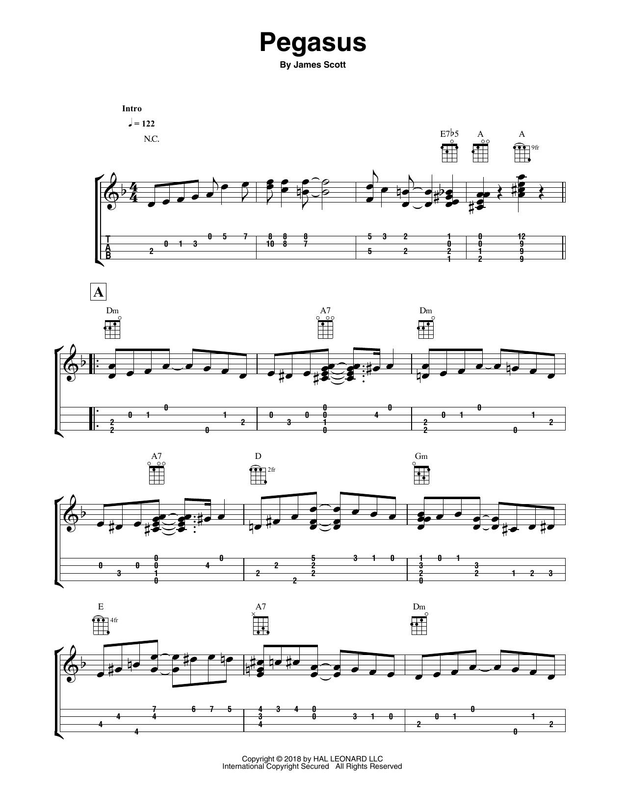 Pegasus Sheet Music