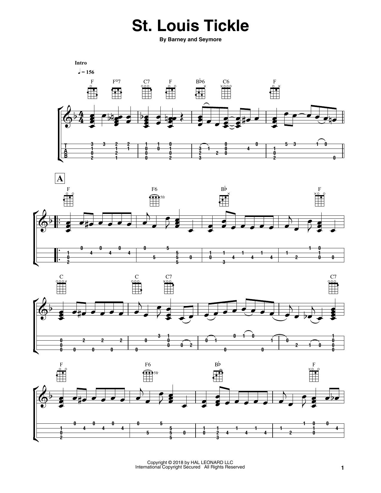 St. Louis Tickle Sheet Music