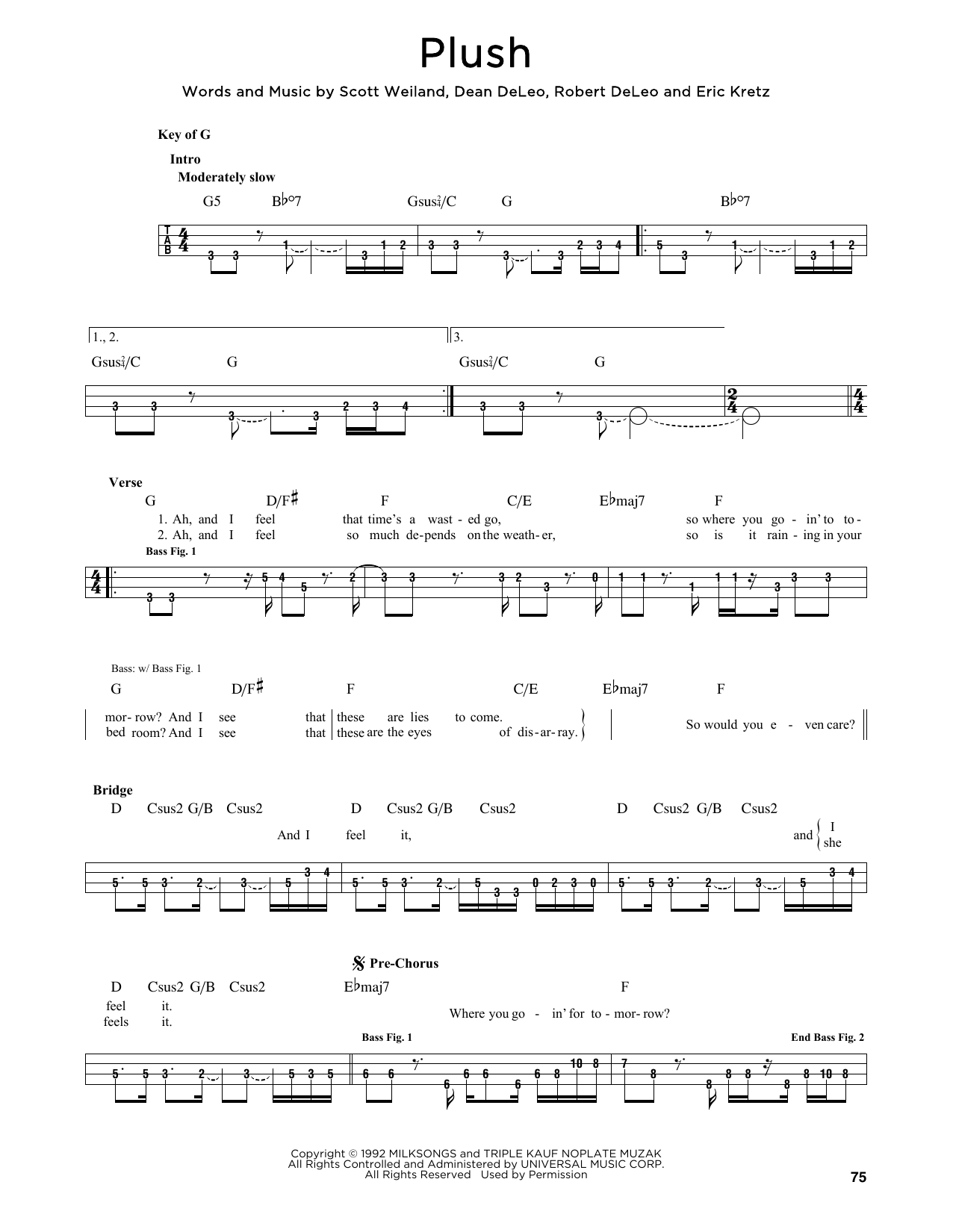 Plush (Bass)