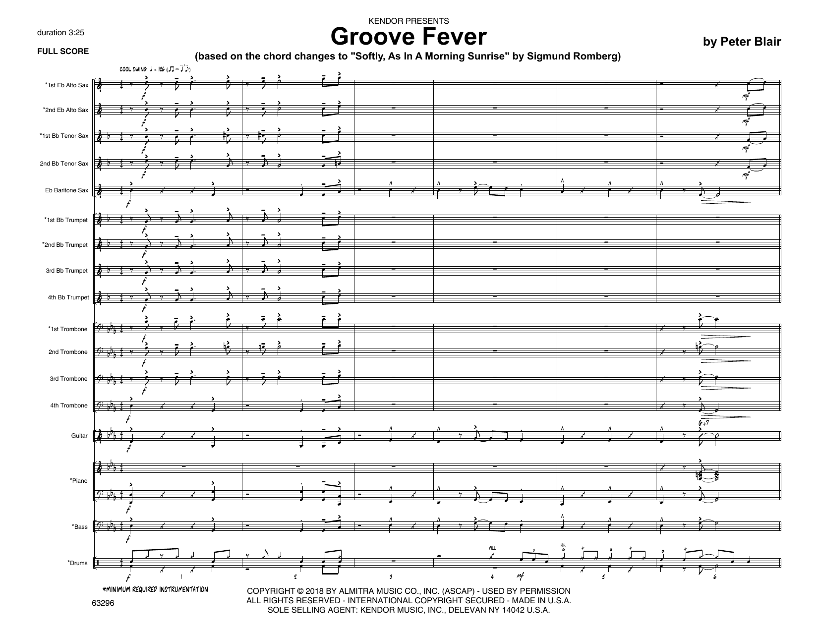 Groove Fever (based on Softly, As In A Morning Sunrise