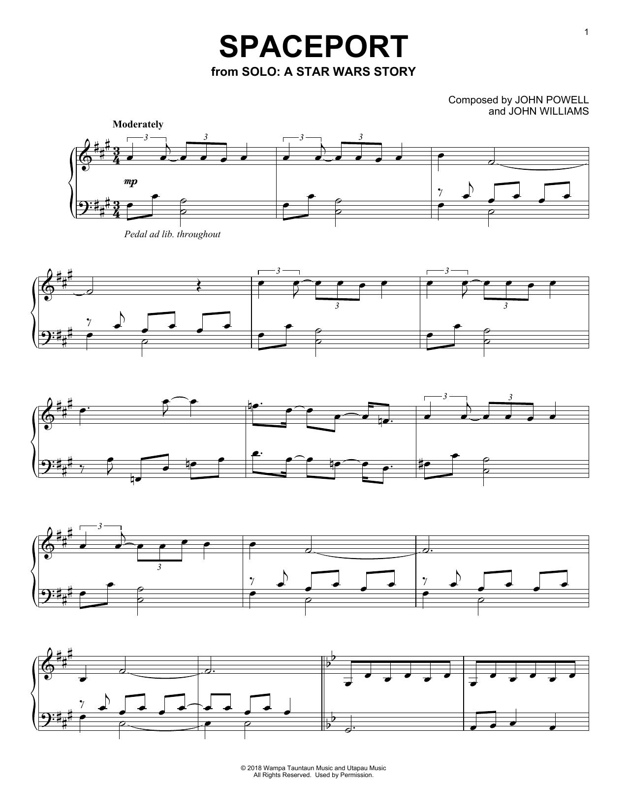 Spaceport (Piano Solo)