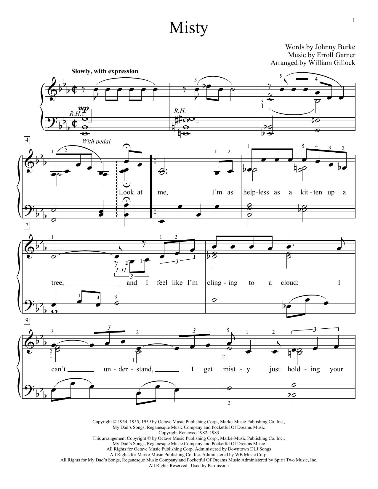 Misty (Educational Piano)