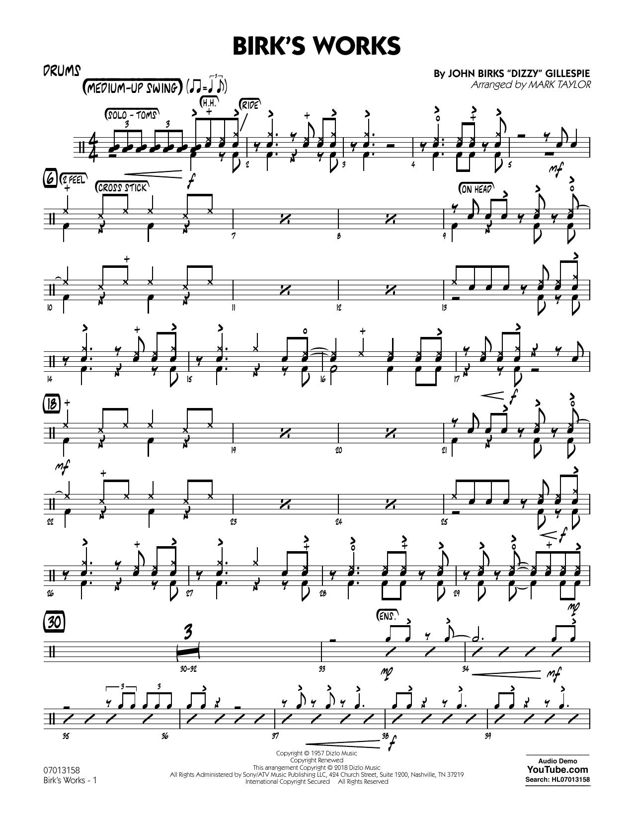Birk's Works - Drums (Jazz Ensemble)