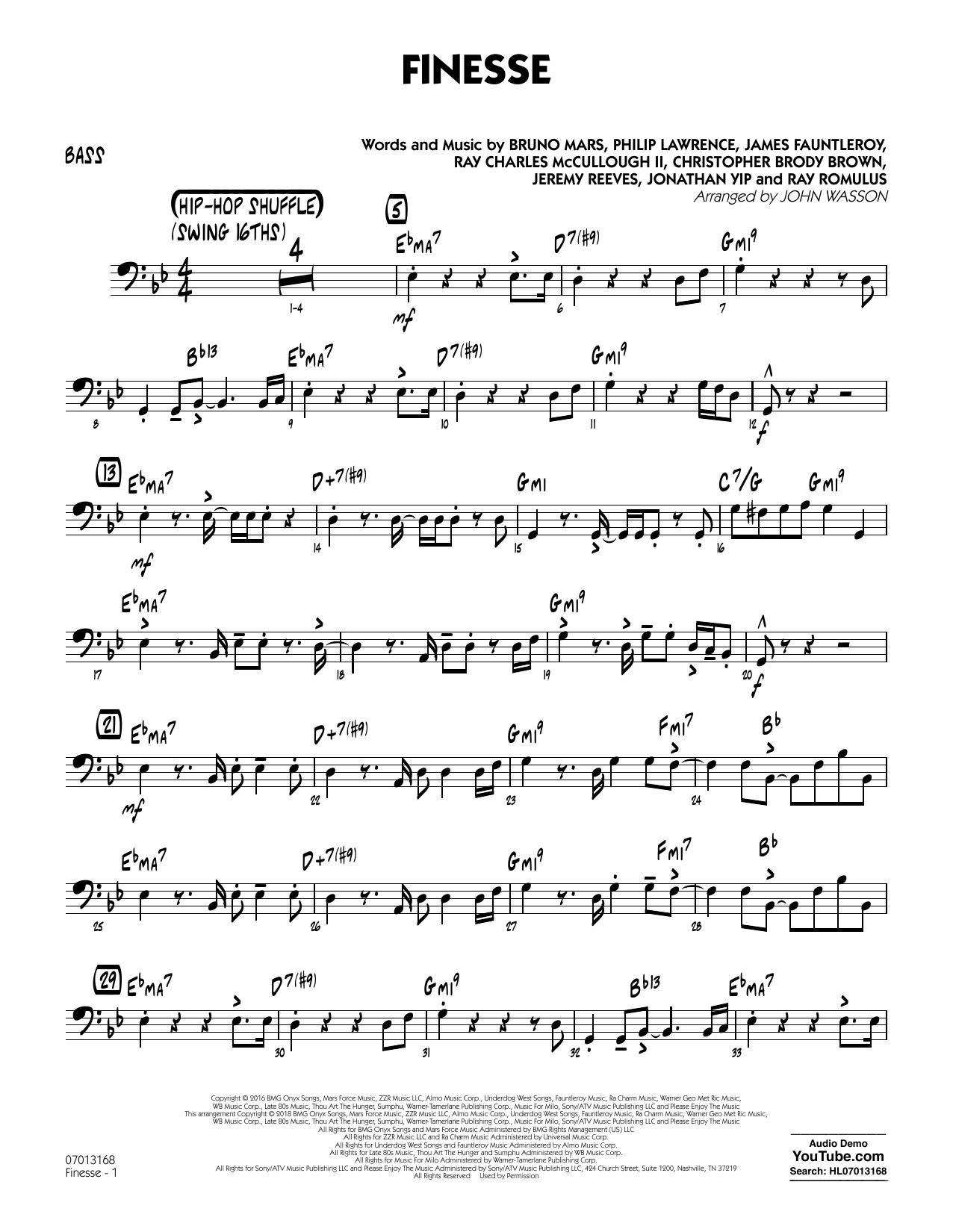 Finesse - Bass (Jazz Ensemble)