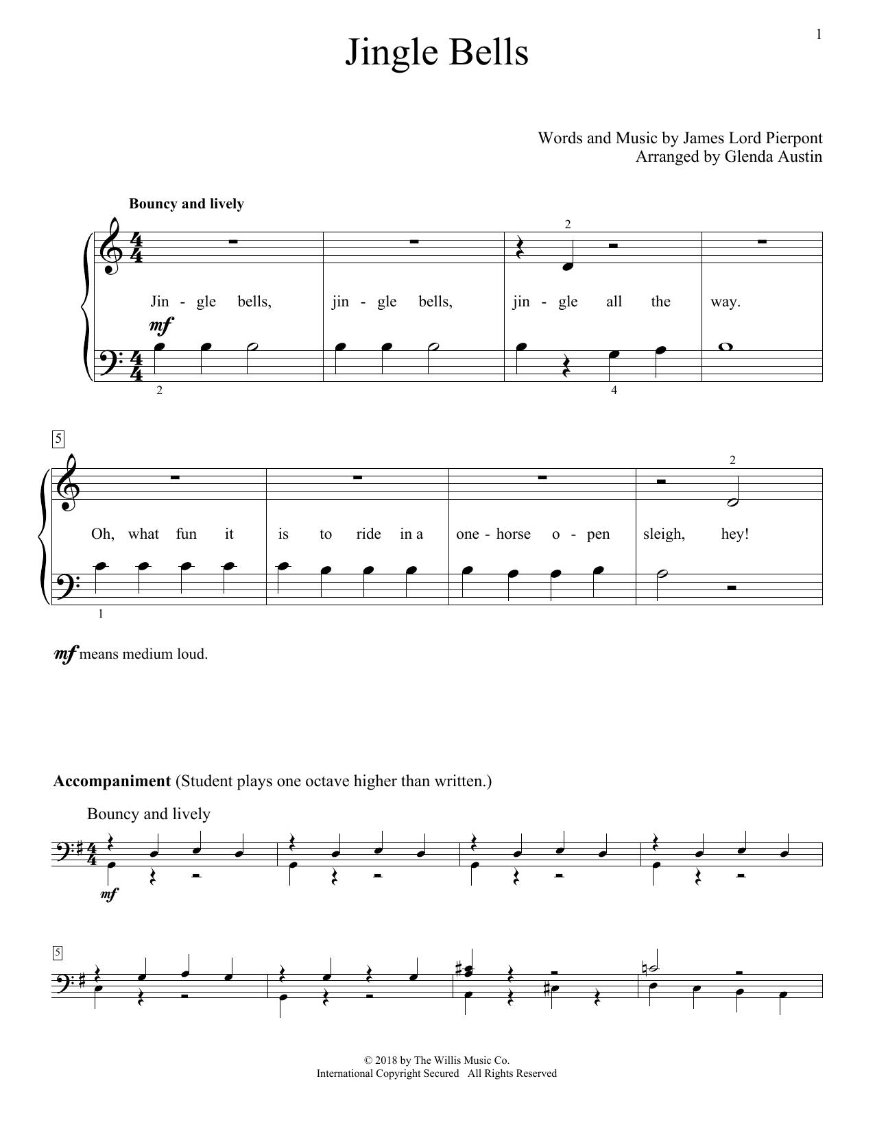 Jingle Bells (Educational Piano)