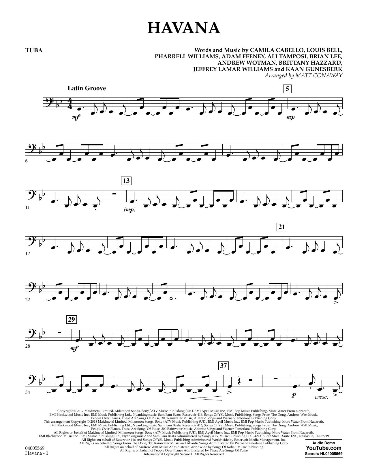 Havana - Tuba (Concert Band)