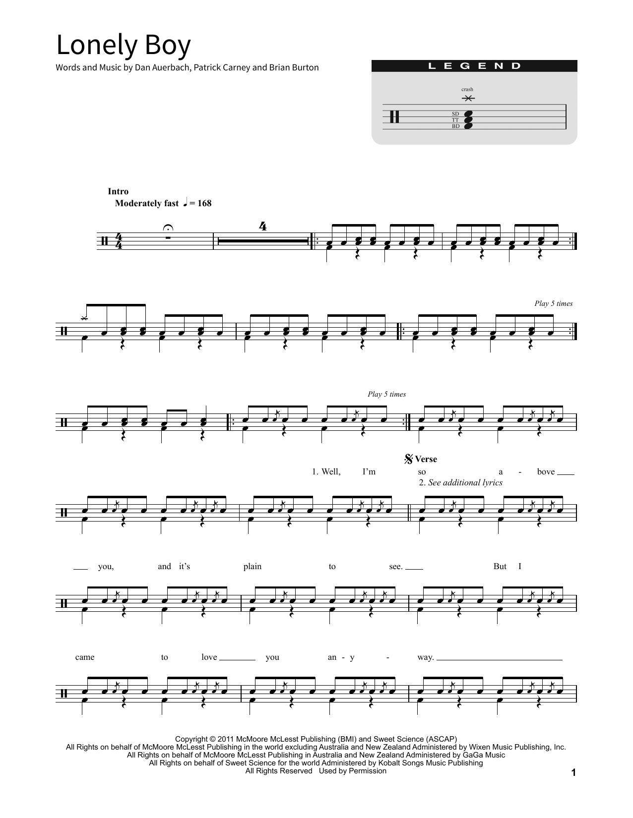 Lonely Boy (School of Rock – Drums)