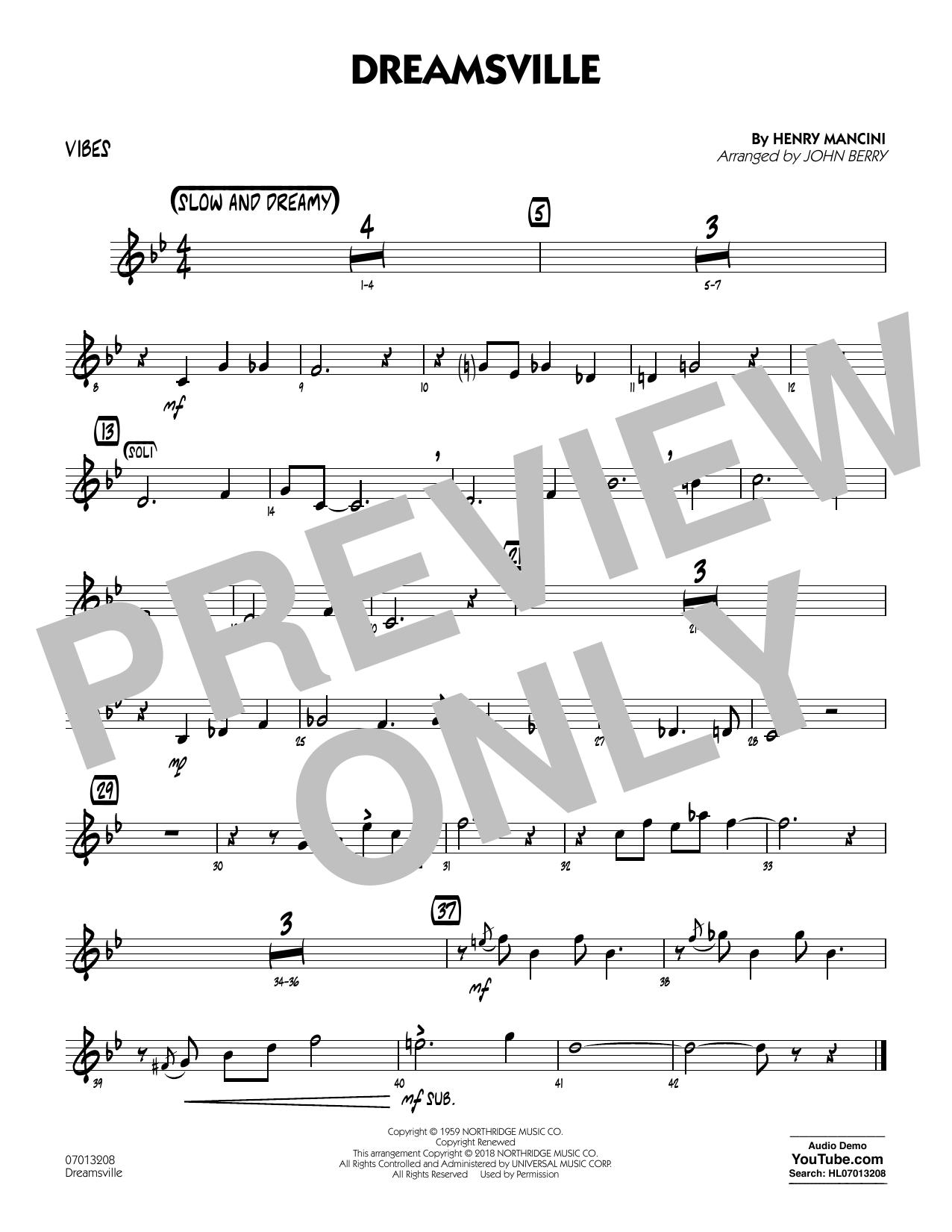 Dreamsville - Vibes (Jazz Ensemble)