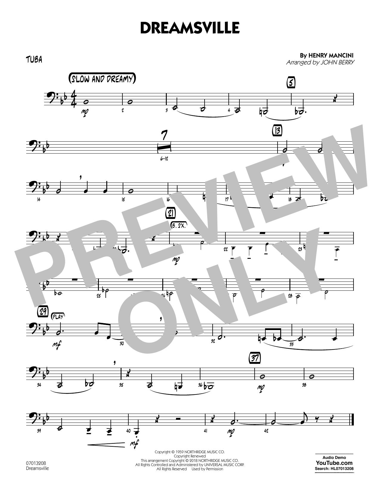 Dreamsville - Tuba (Jazz Ensemble)