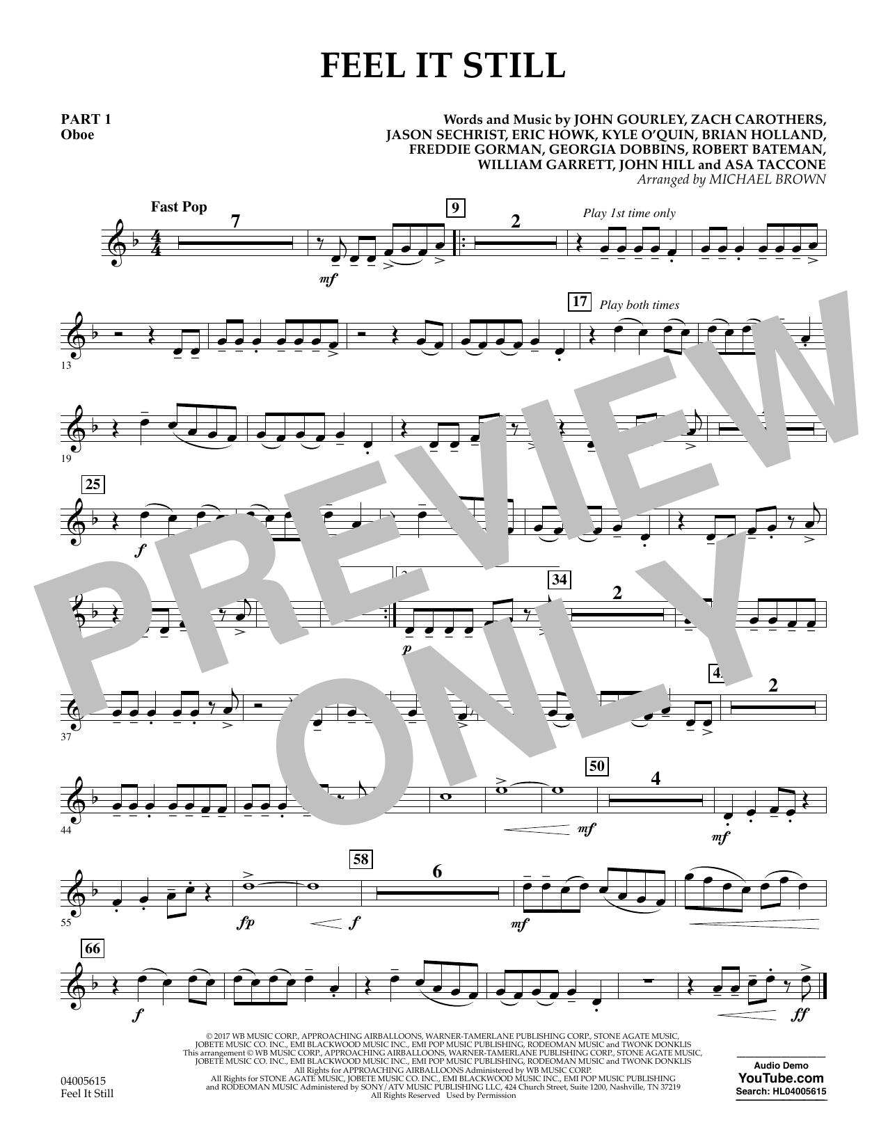 Feel It Still - Pt.1 - Oboe (Flex-Band)