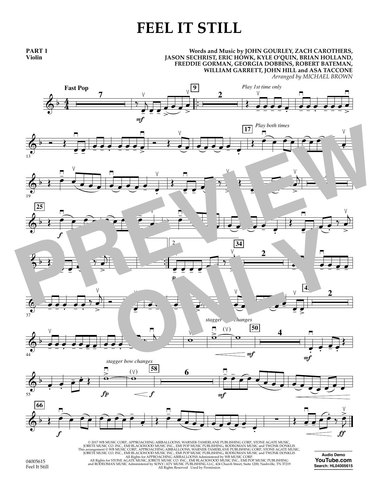 Feel It Still - Pt.1 - Violin (Flex-Band)