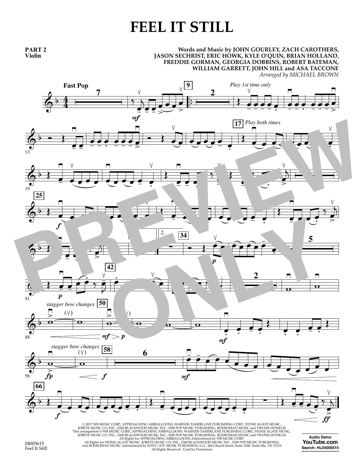 Feel It Still - Pt.2 - Violin (Flex-Band)