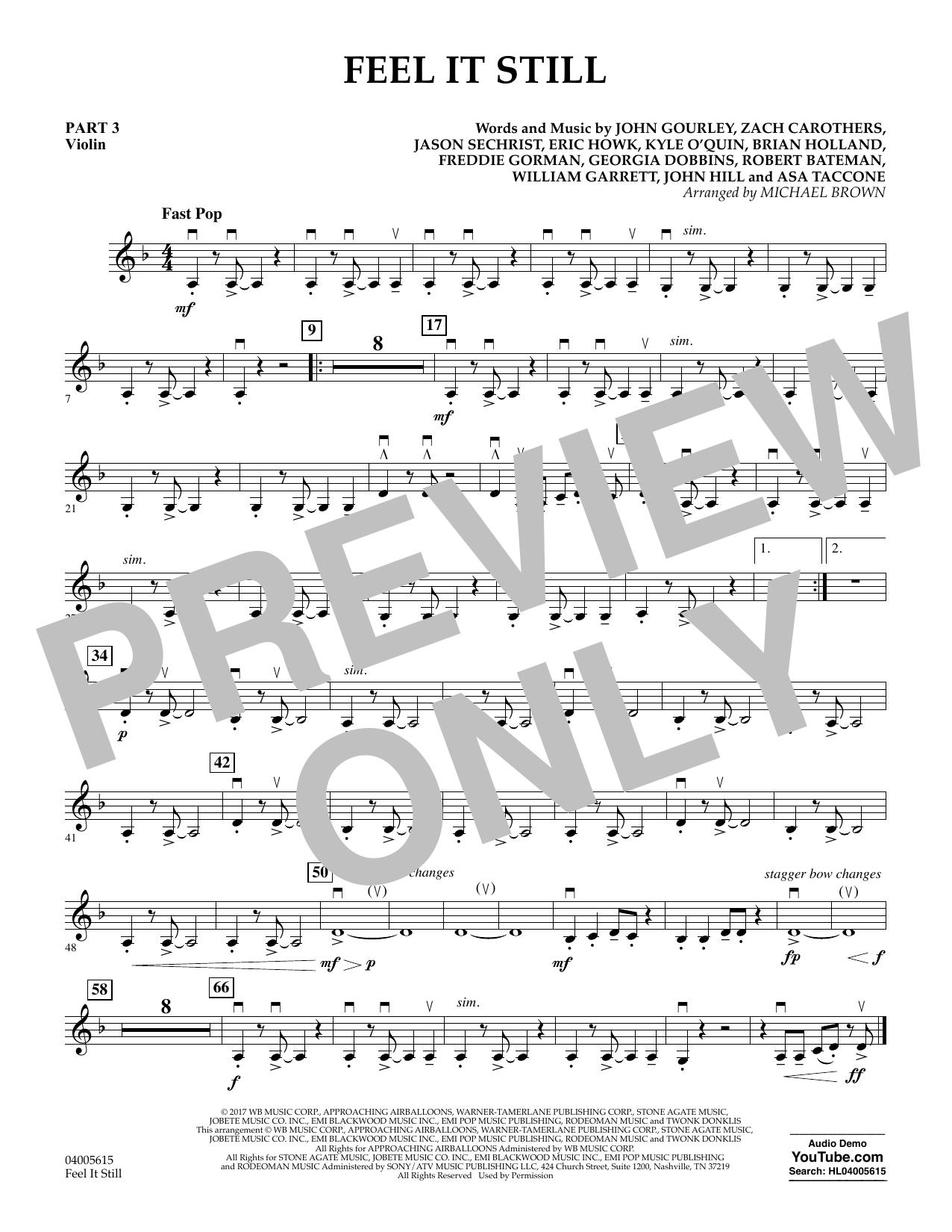 Feel It Still - Pt.3 - Violin (Flex-Band)