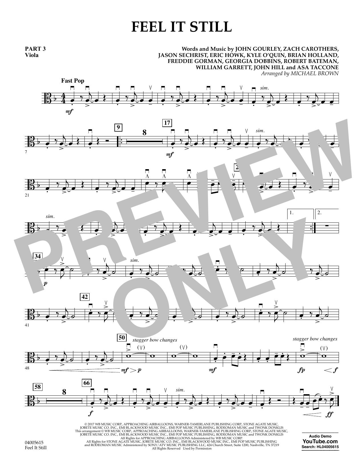 Feel It Still - Pt.3 - Viola (Flex-Band)