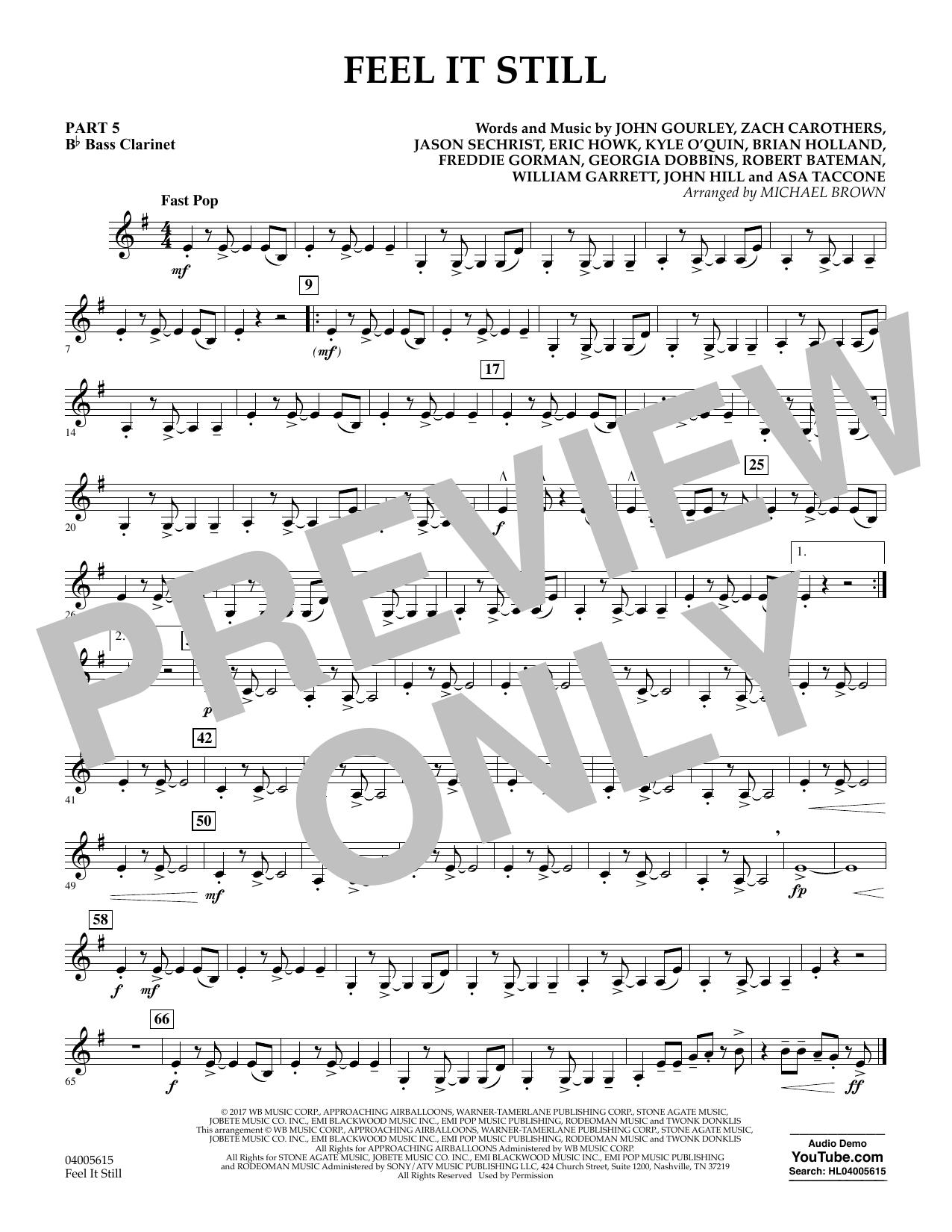 Feel It Still - Pt.5 - Bb Bass Clarinet (Flex-Band)