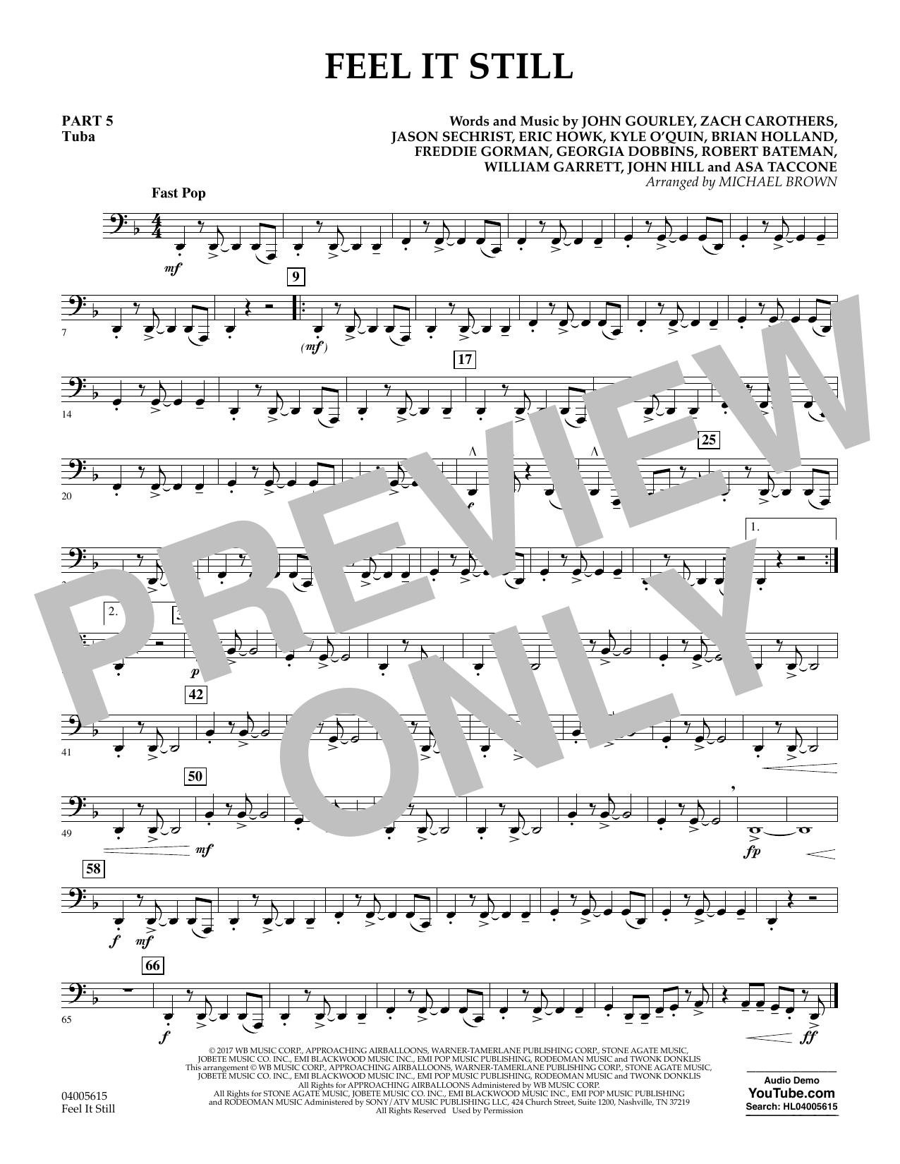 Feel It Still - Pt.5 - Tuba (Flex-Band)
