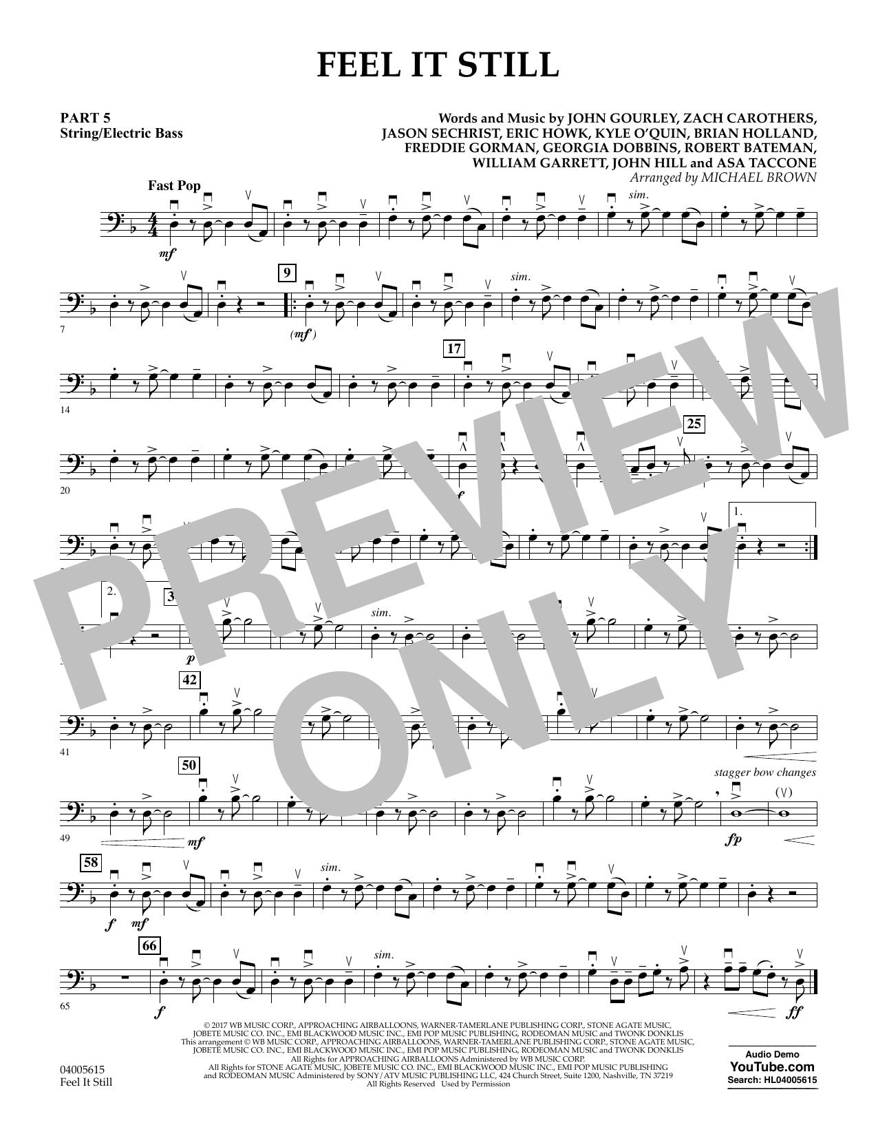 Feel It Still - Pt.5 - String/Electric Bass (Flex-Band)