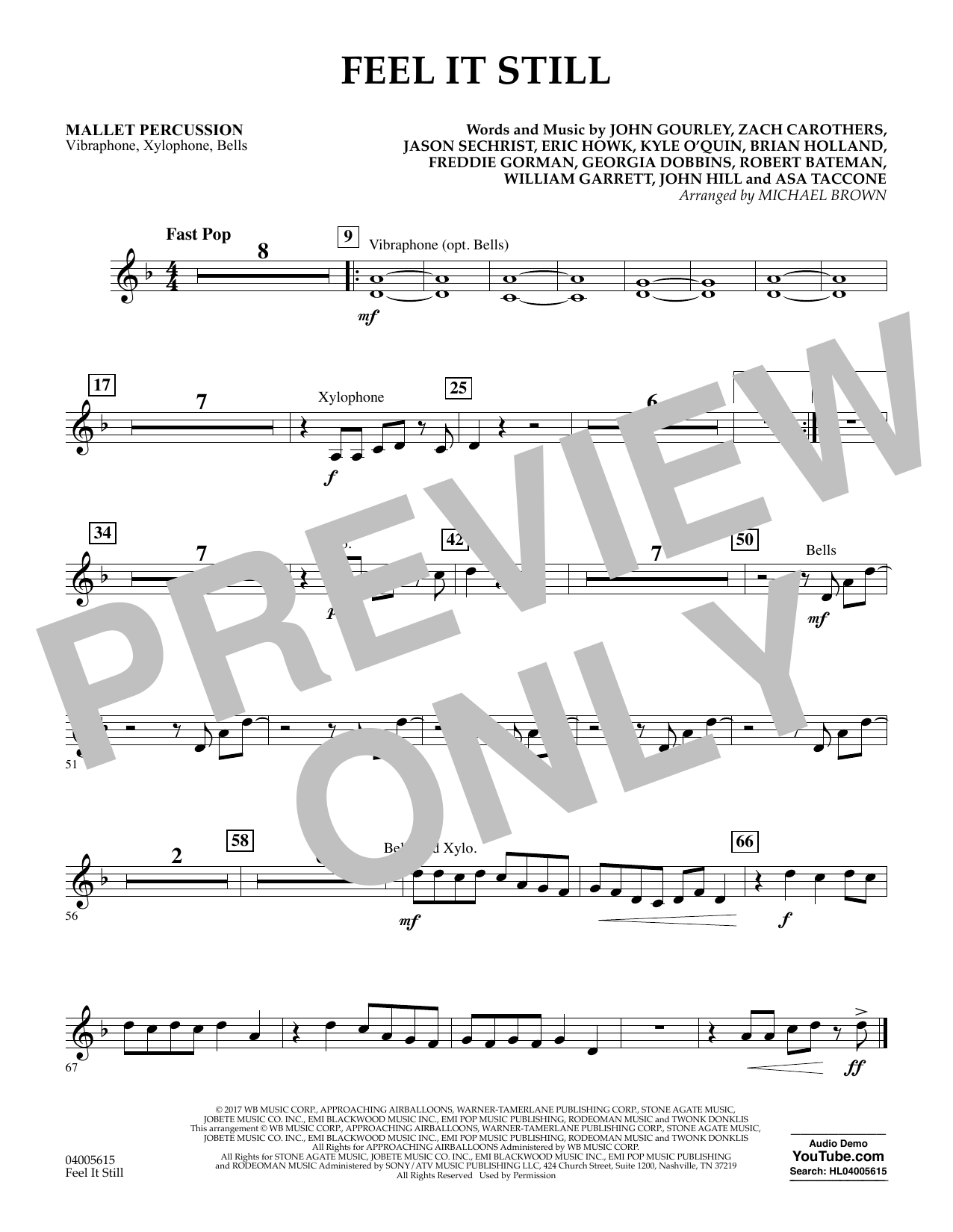 Feel It Still - Mallet Percussion (Flex-Band)