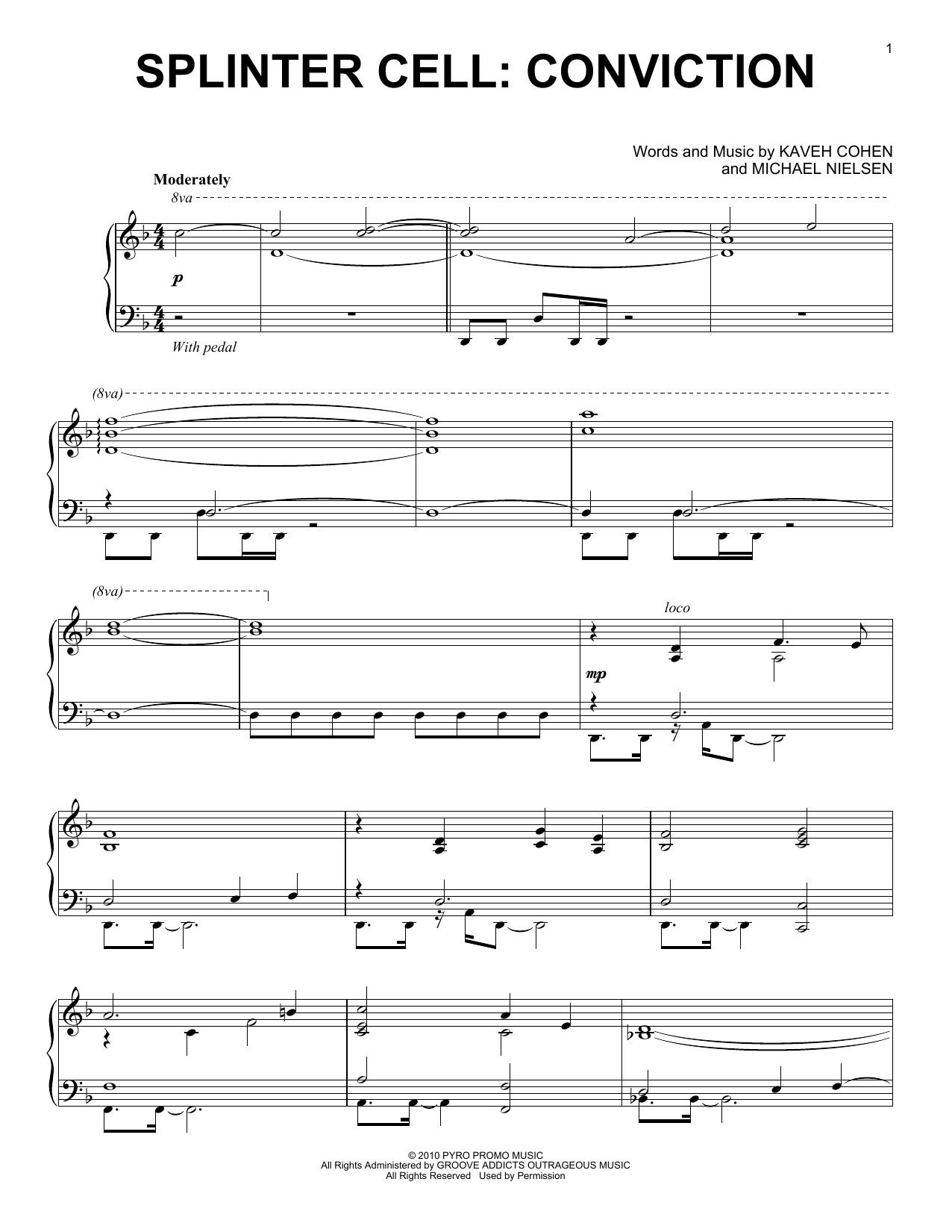 Splinter Cell: Conviction (Piano Solo)