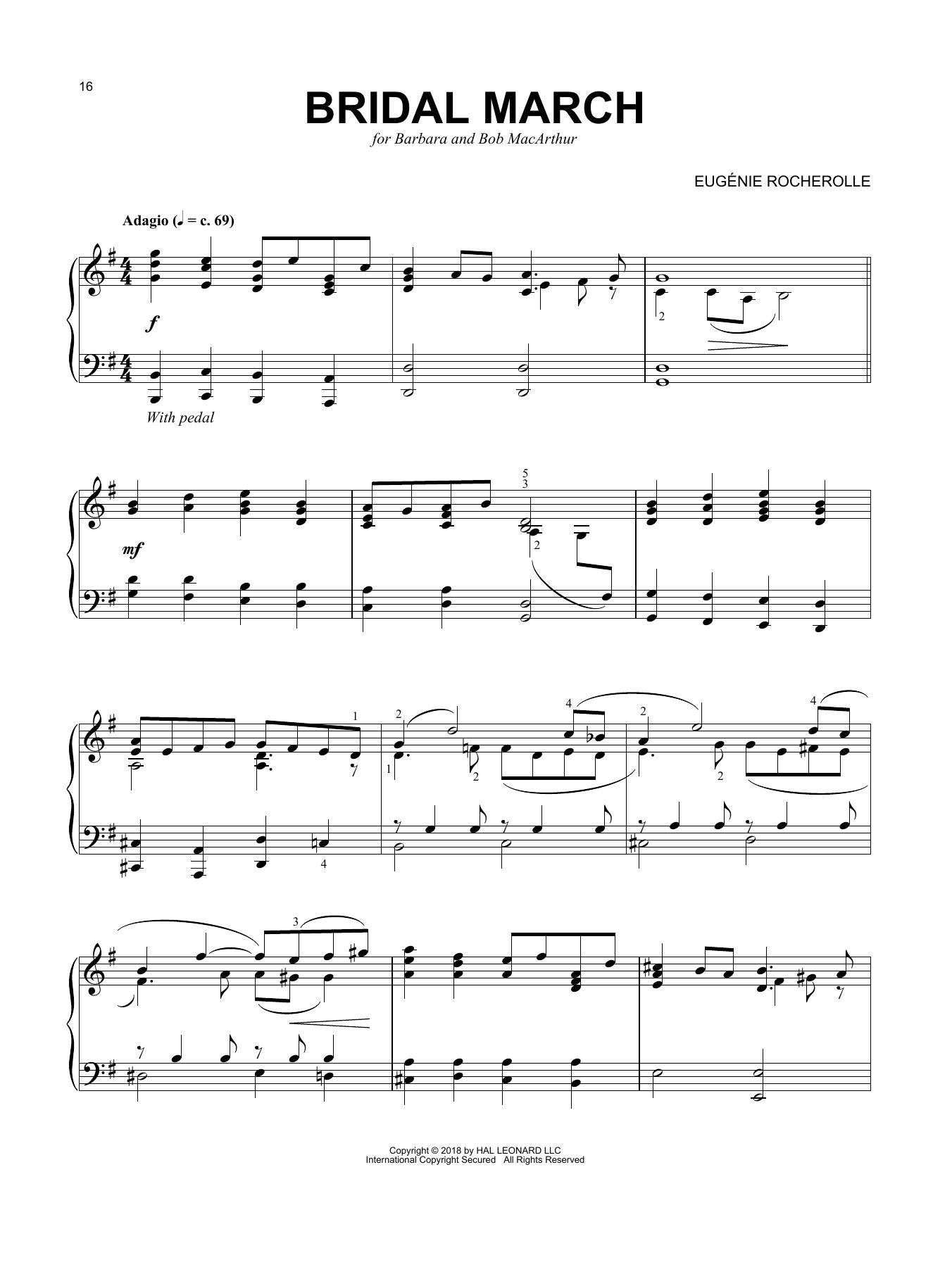 Bridal March (Piano Solo)