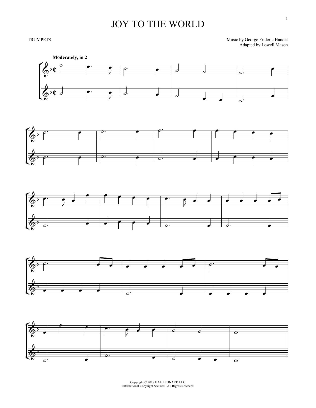Joy To The World (Trumpet Duet)