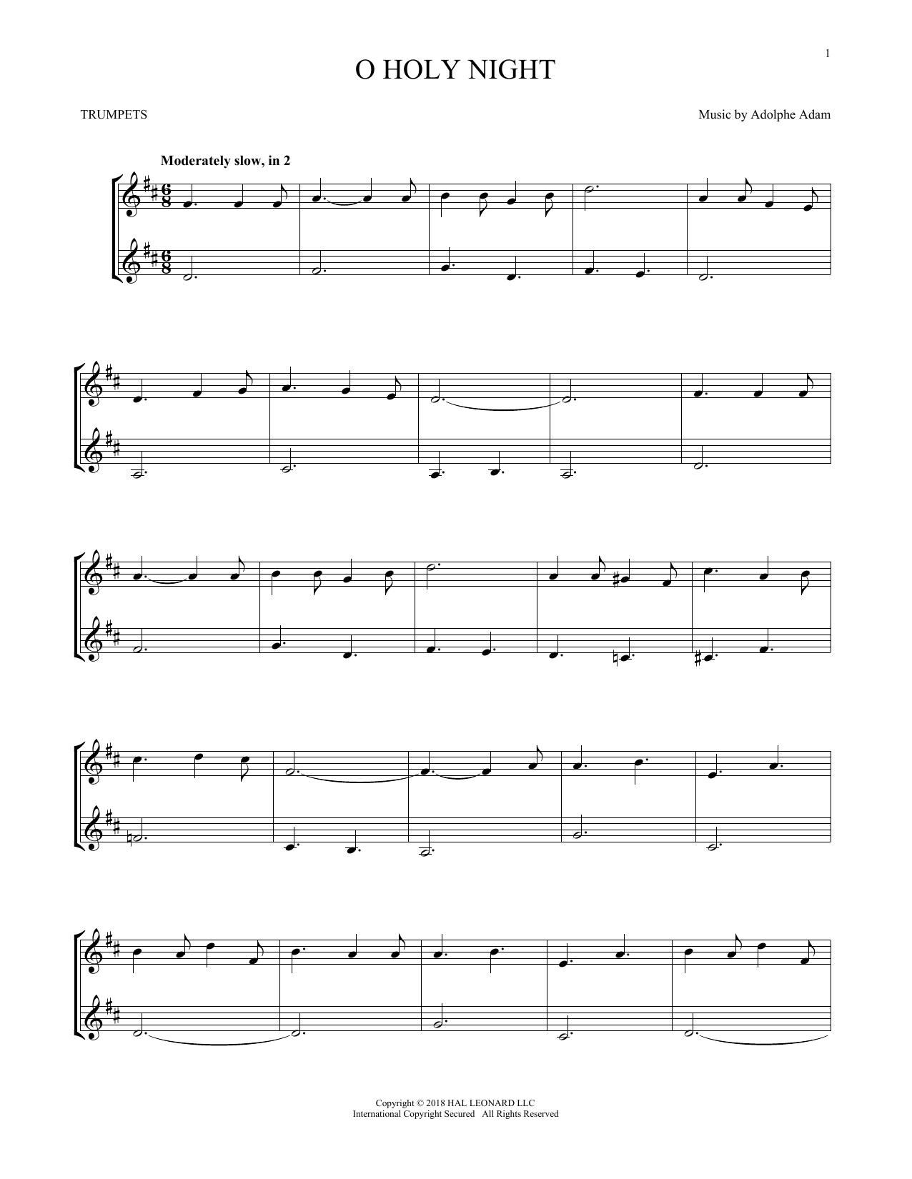 O Holy Night (Trumpet Duet)