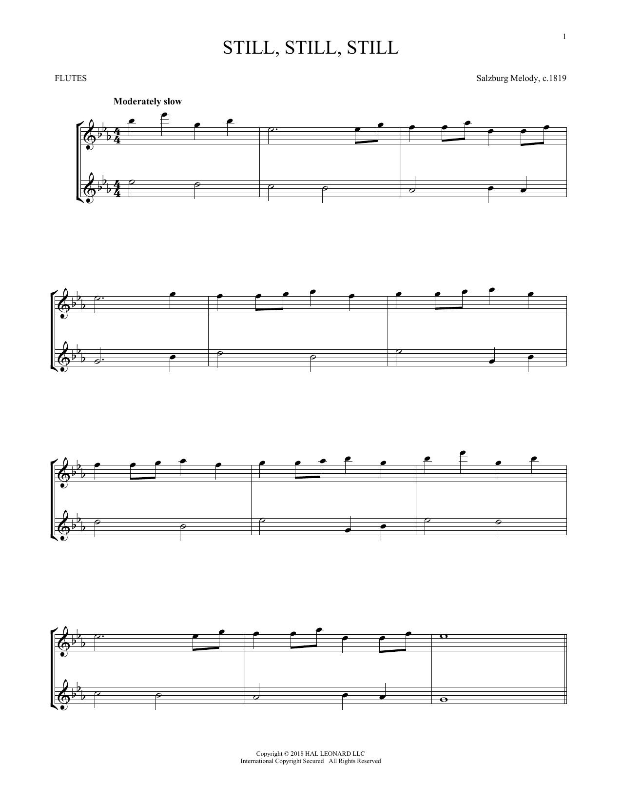 Still, Still, Still (Flute Duet)